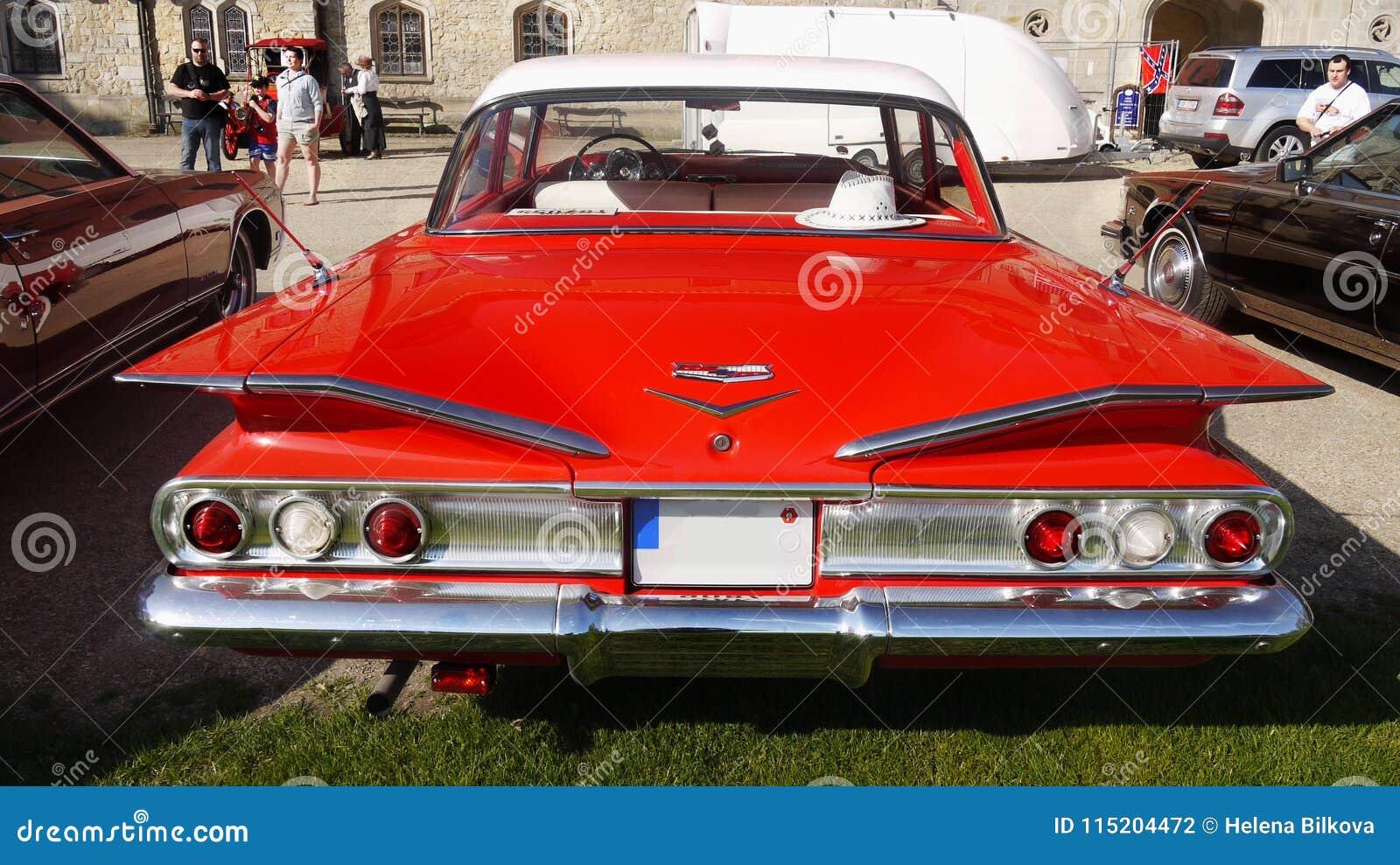 Rocznika Amerykański Klasyczny samochód, Chevrolet Biscayne