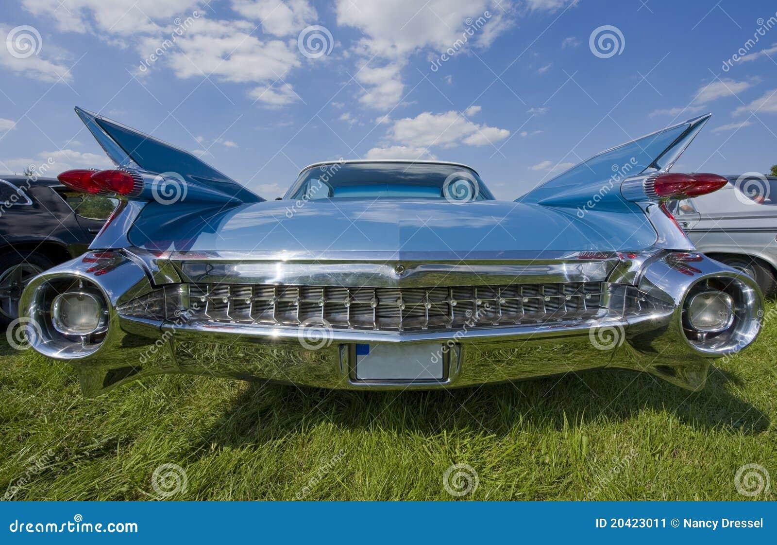 Rocznika Cadillac backview