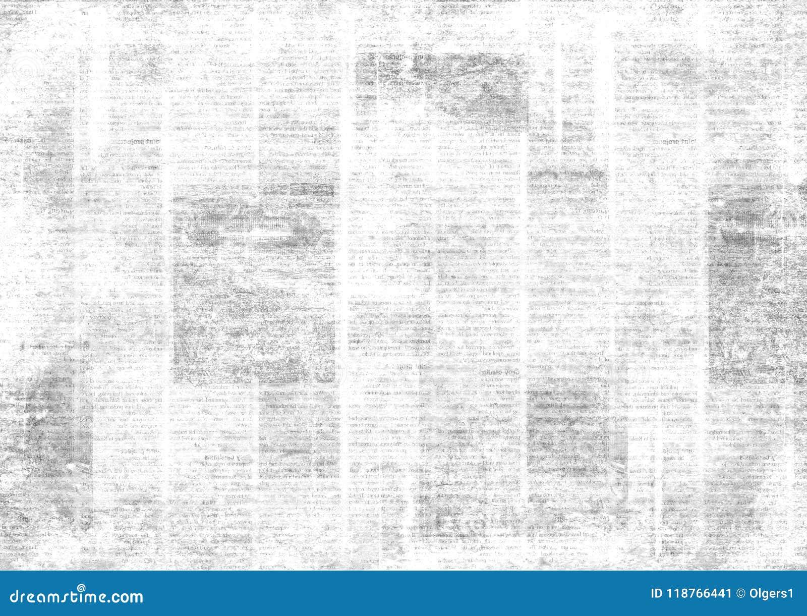 Rocznika grunge kolażu gazetowy tło