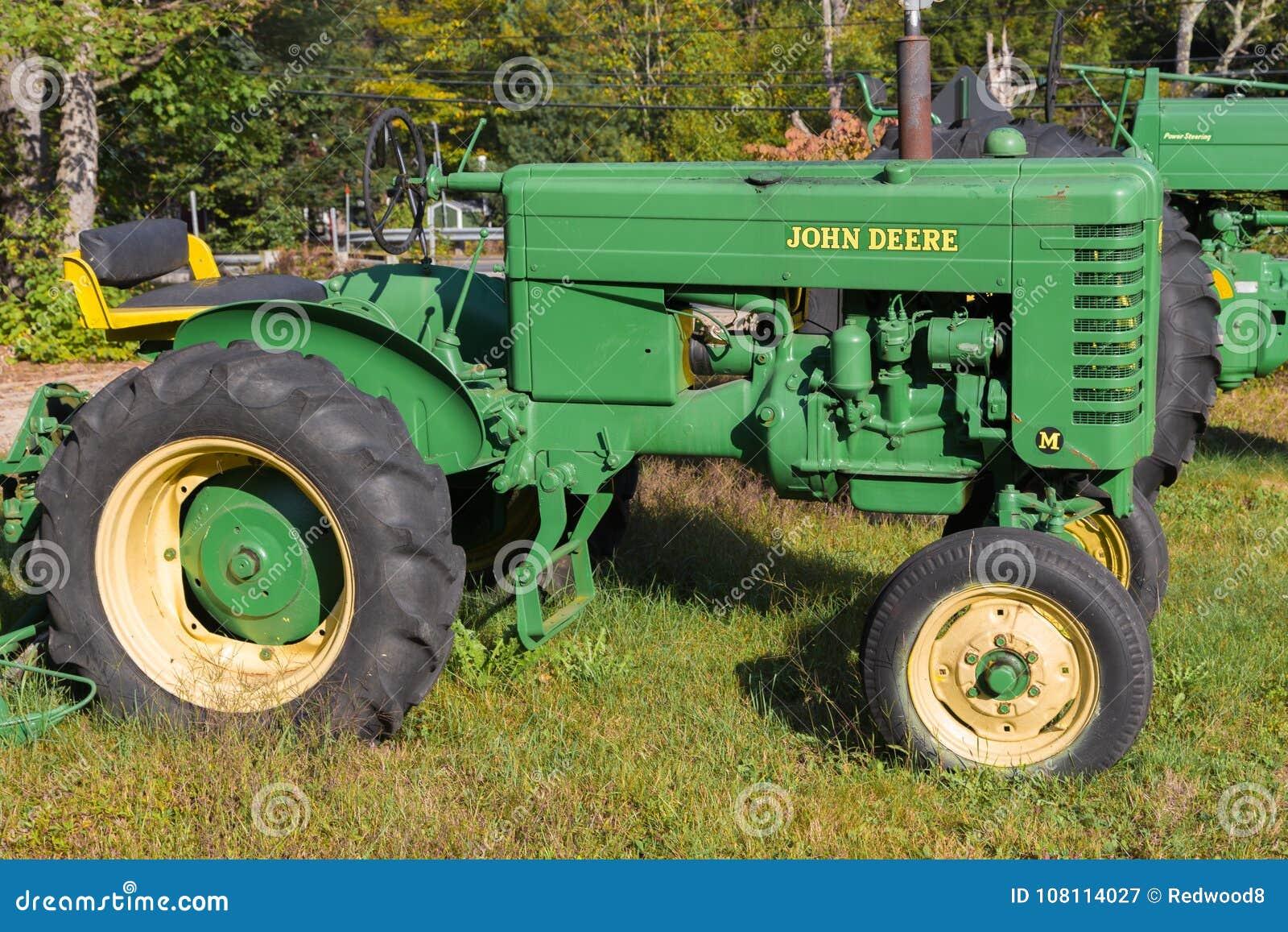 Rocznika John Deere modela M ciągnik