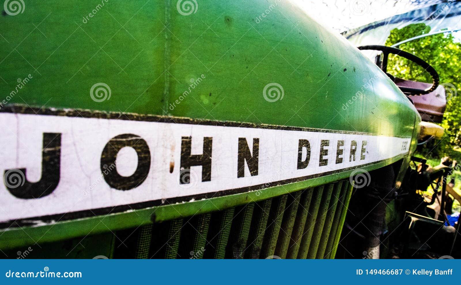 Rocznika John Deere Zieleni ci?gniki