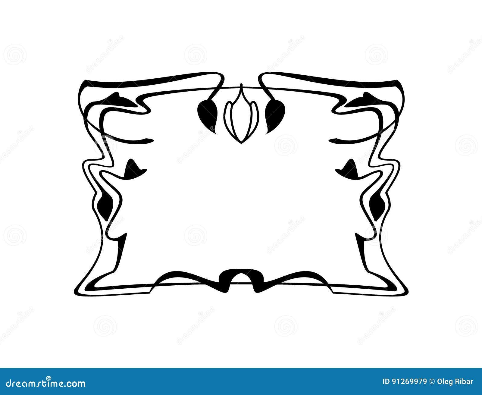Rocznika kwadrata Kaligraficznej ramy Dekoracyjny Kwiecisty Rabatowy element z zawijasami