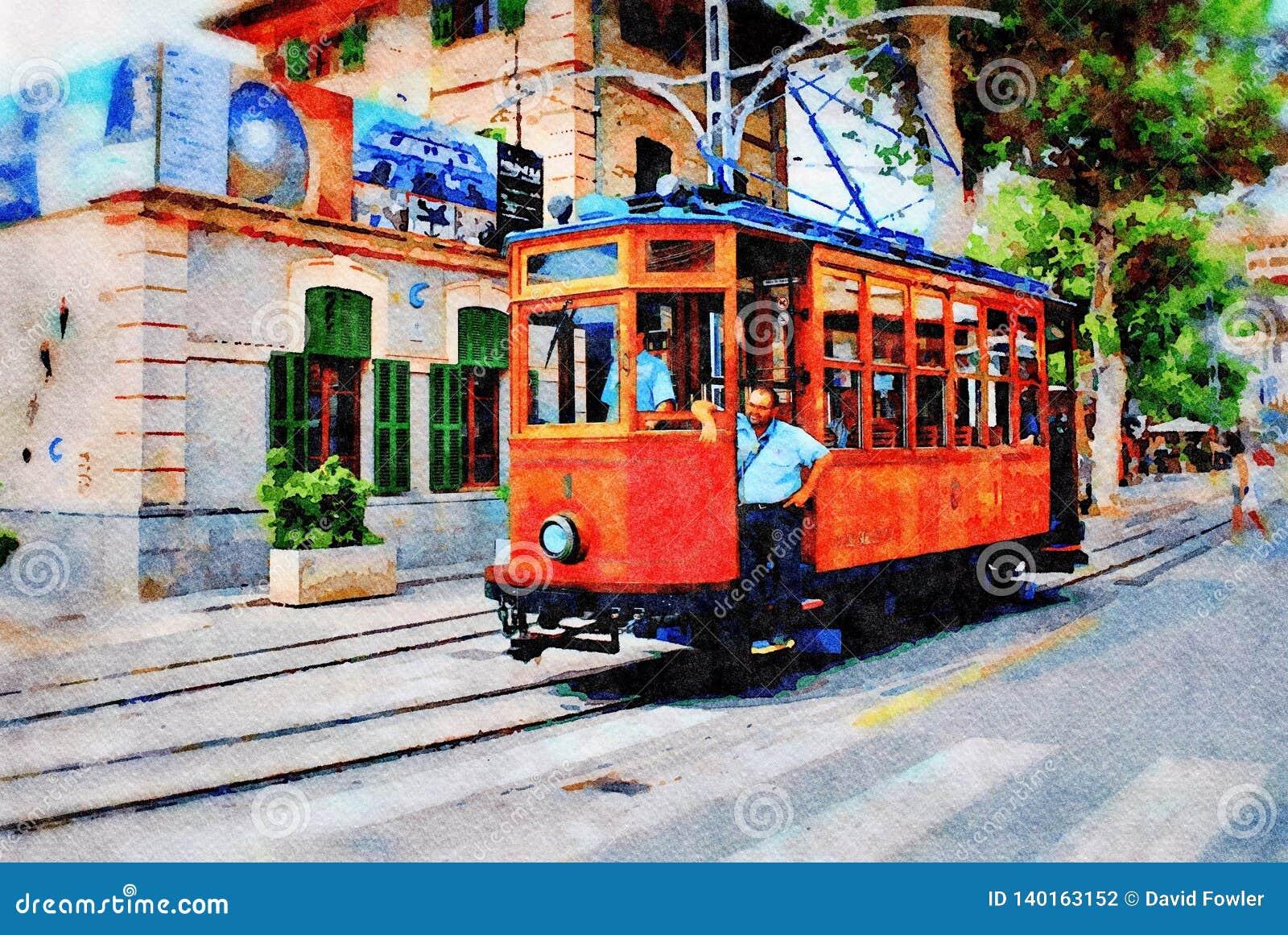 Rocznika tramwaj, Majorca