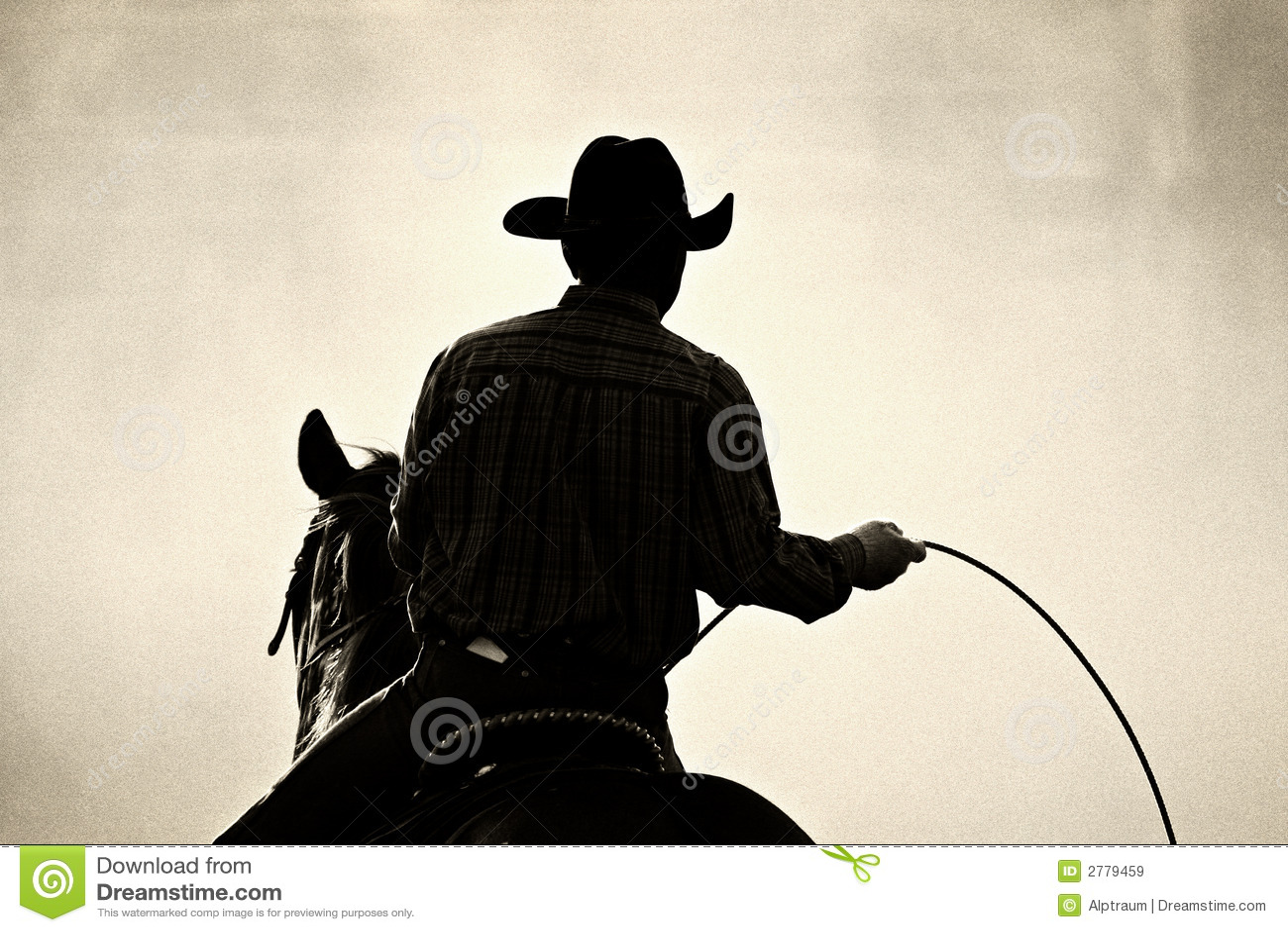 Rodéo de cowboy
