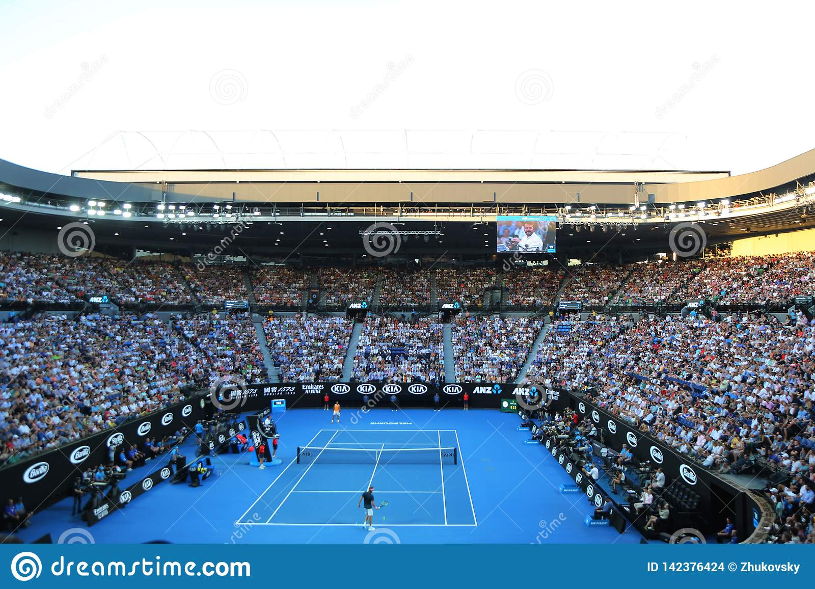 Rod Laver Arena During 2019 Australian Open Match At