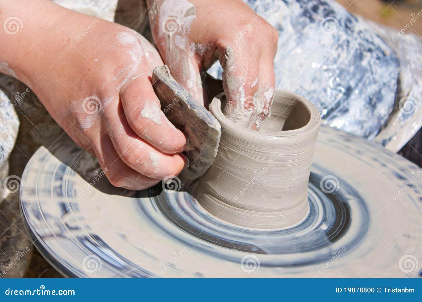 Roda da cerâmica