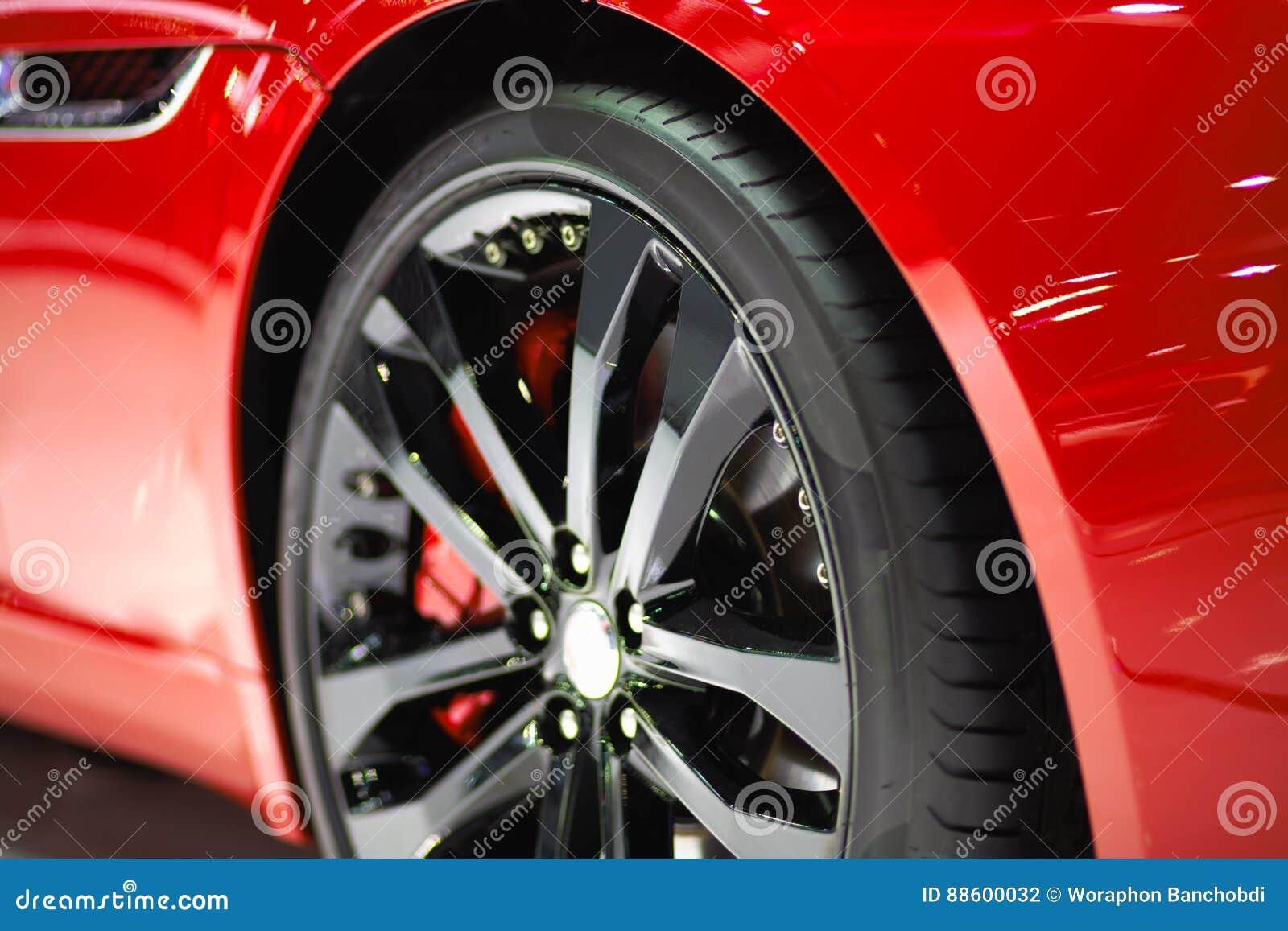 Roda de carro desportivo