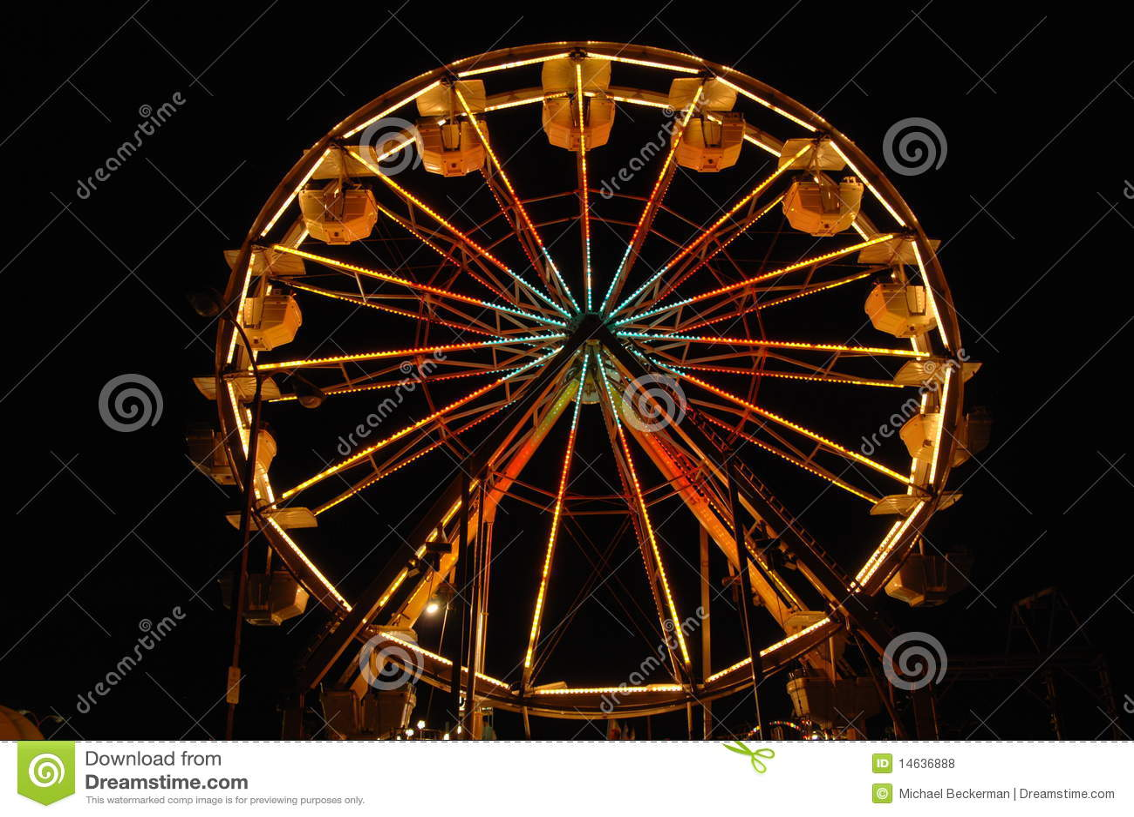 Roda de Ferris 6 do Nighttime