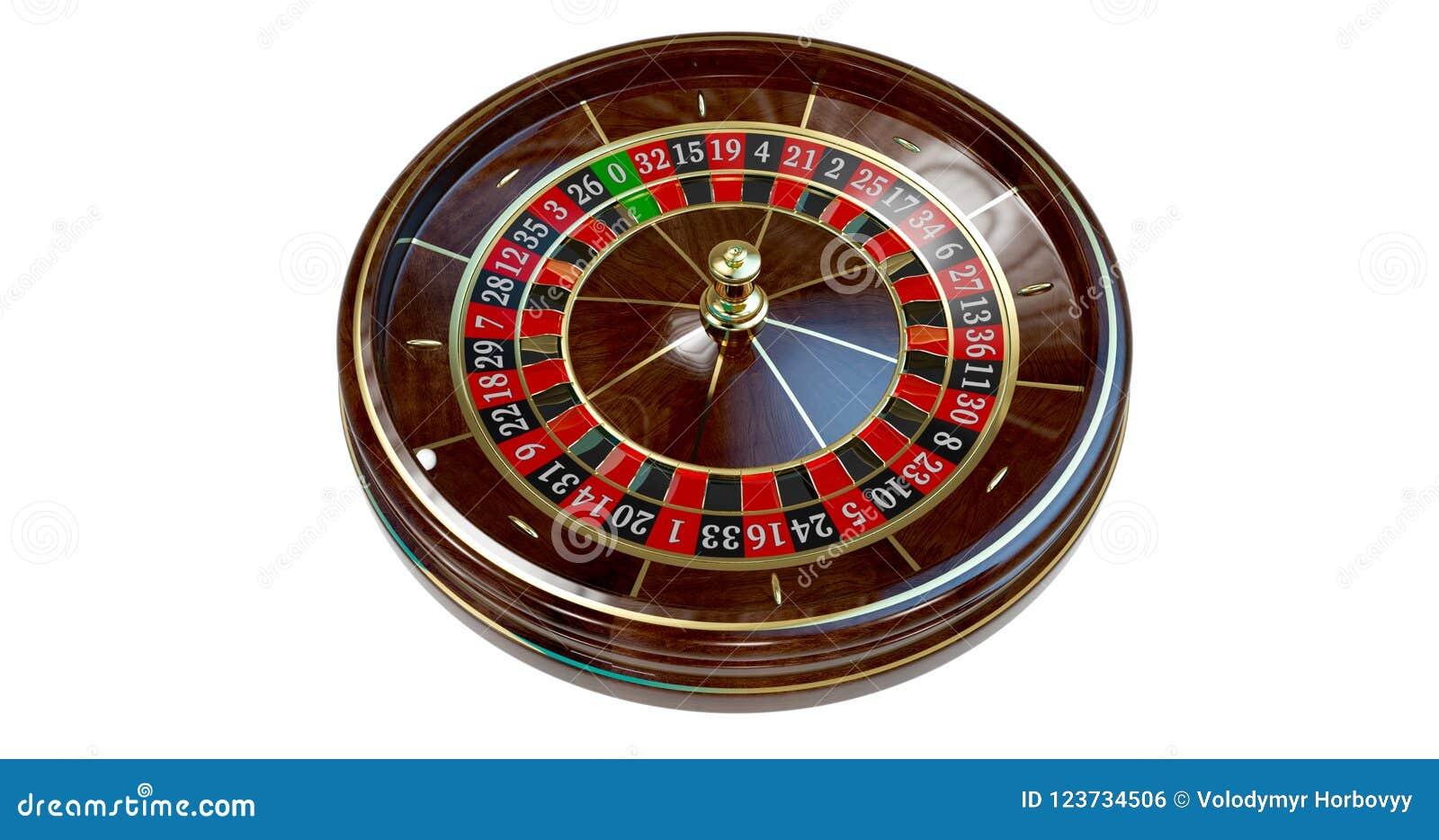 Roda de roleta do casino
