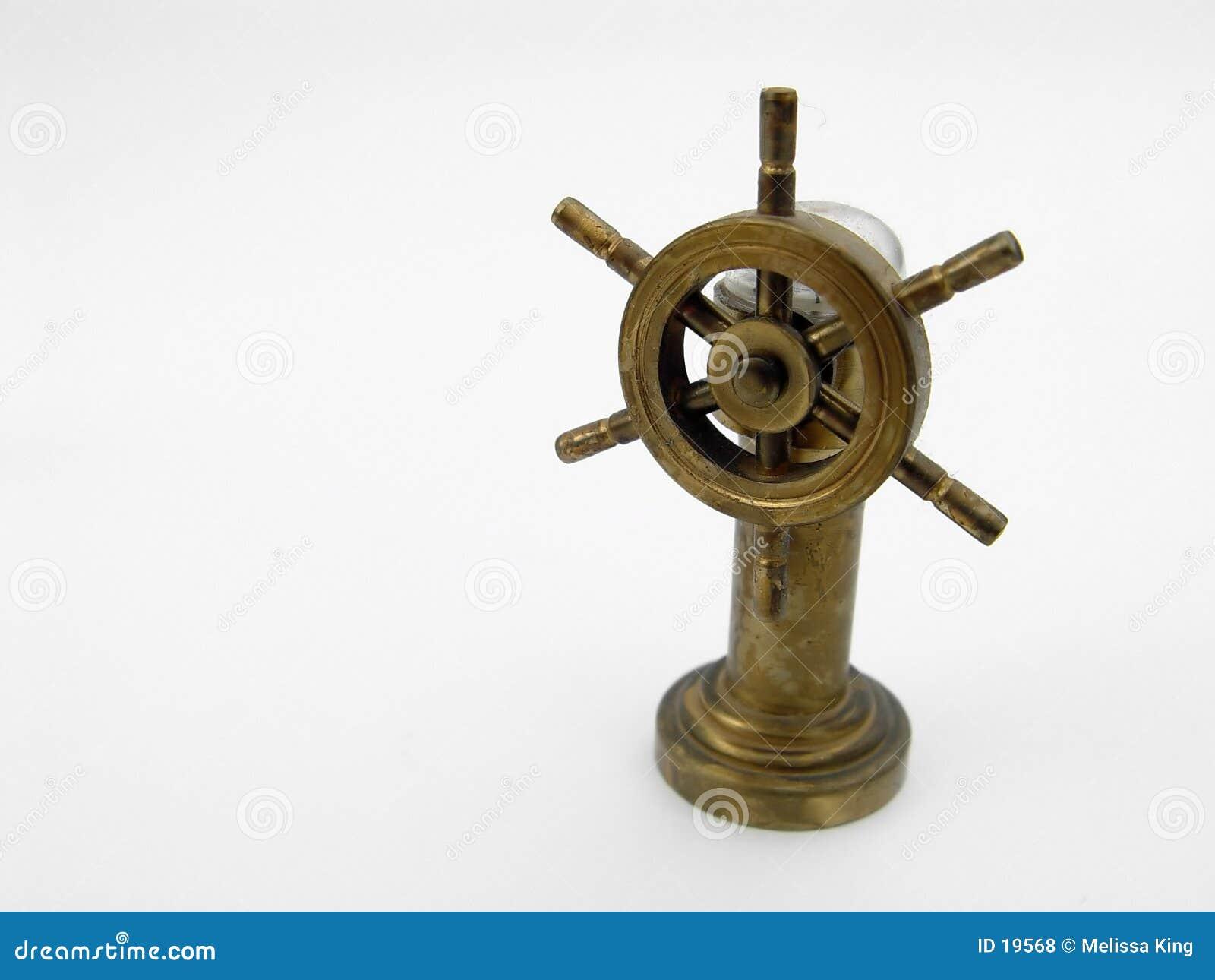 Roda do barco de Miniture