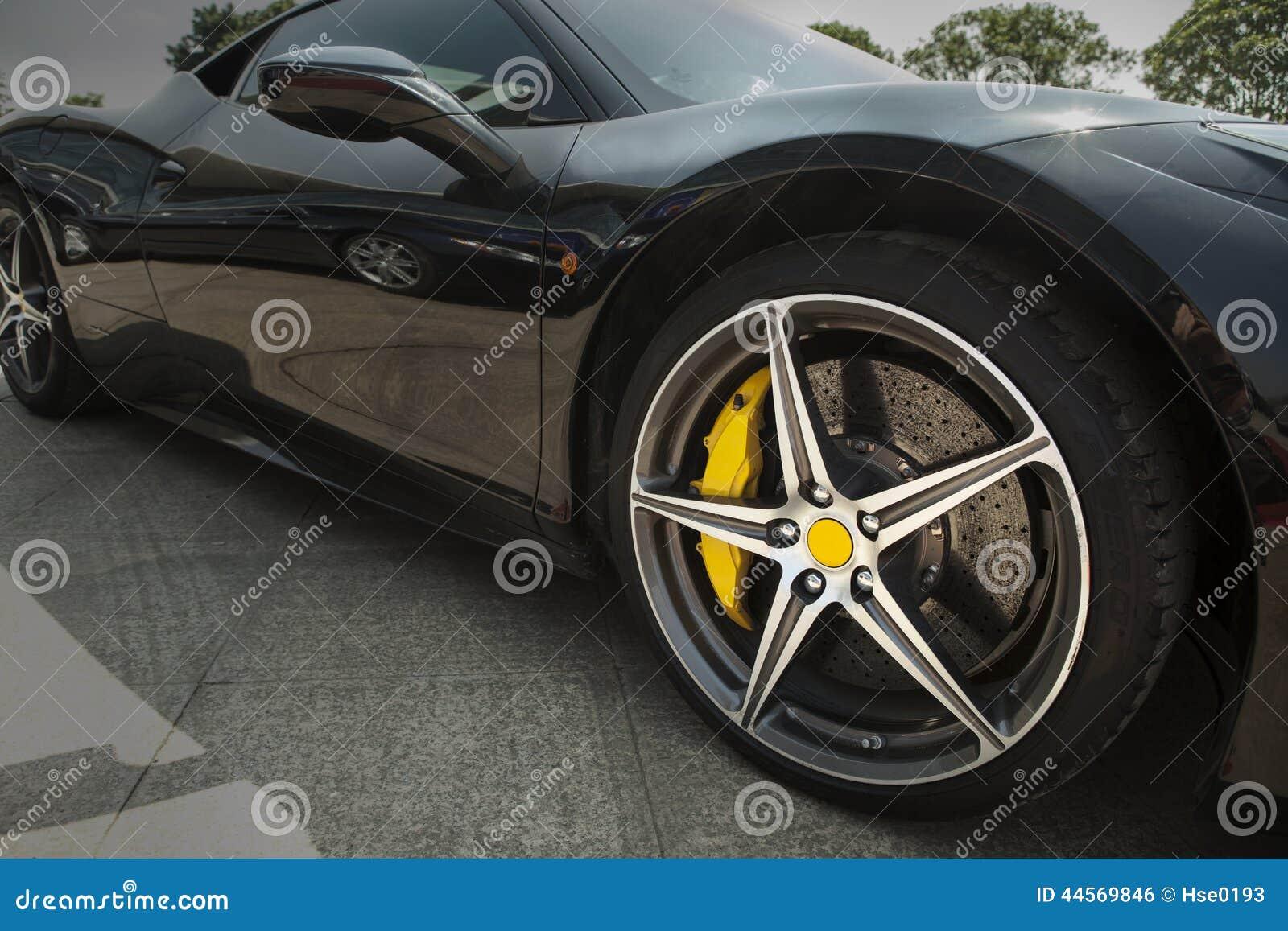 Roda do supercarro