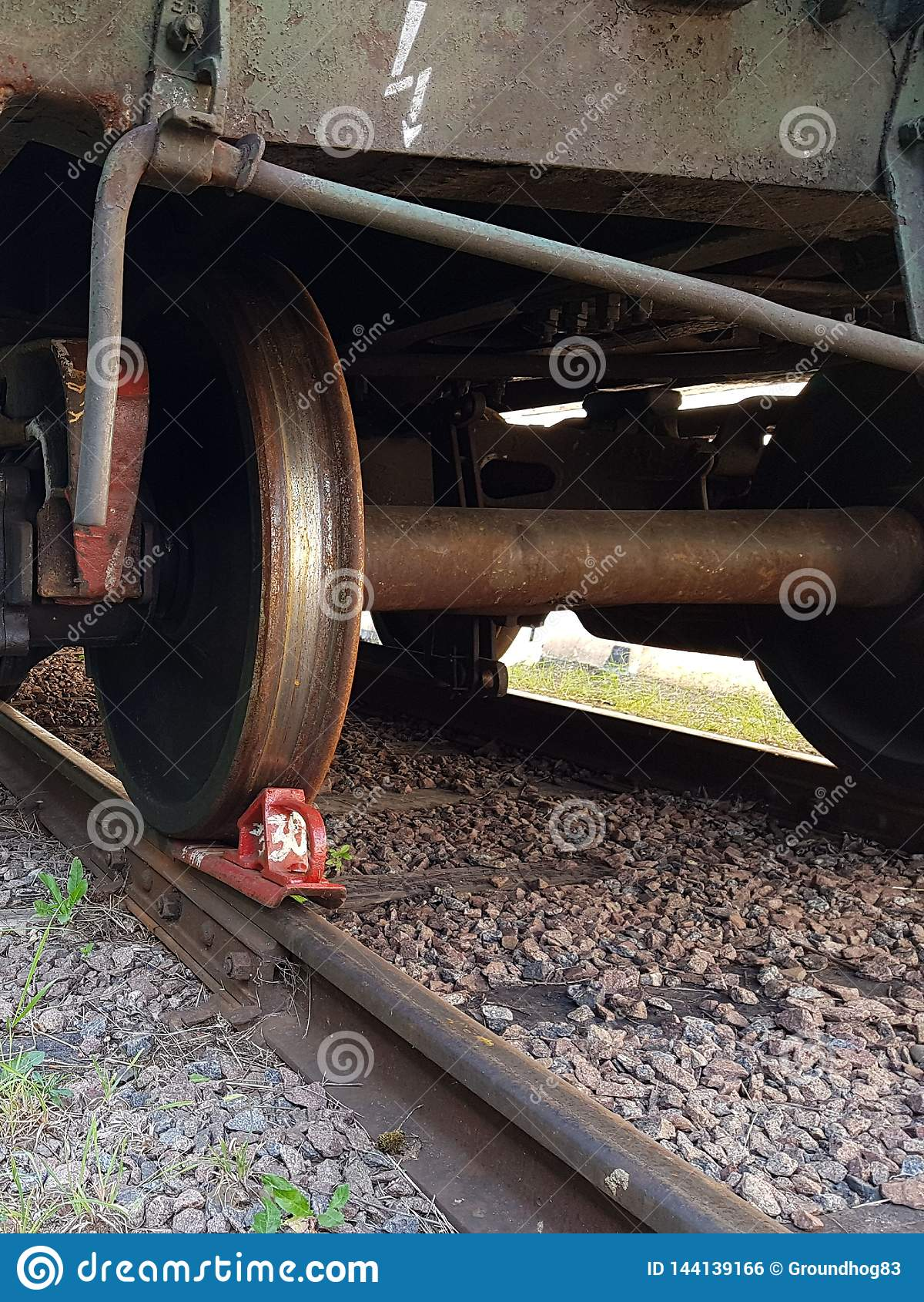 A roda do trem
