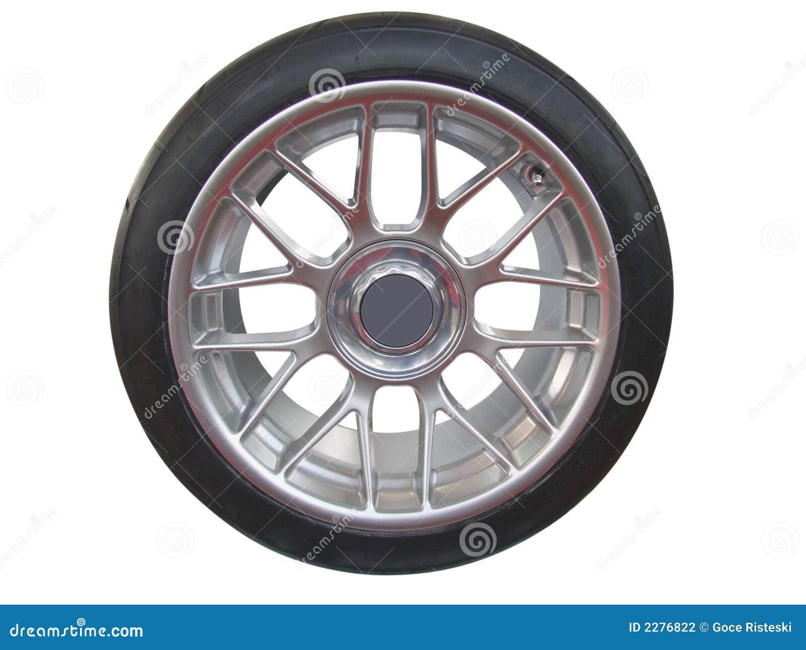 Roda e borda de carro