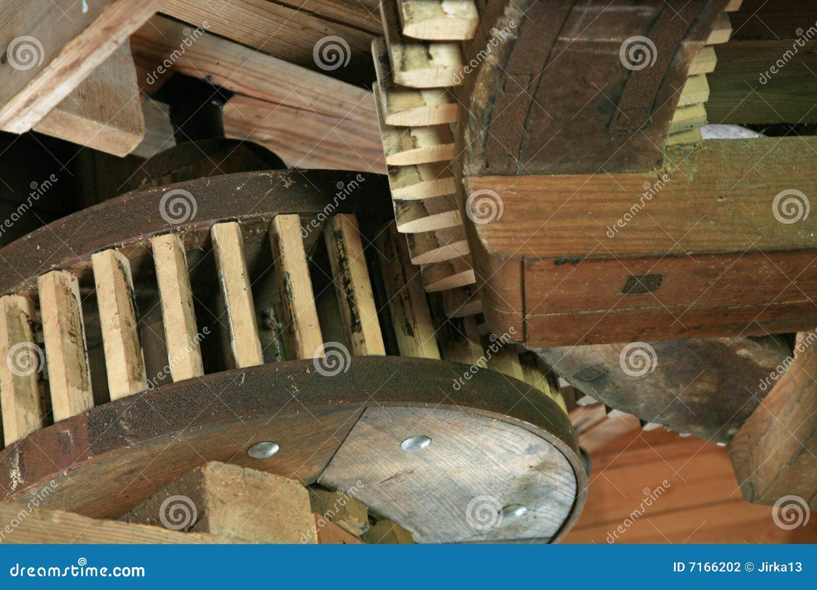 Rodas De Madeira Do Dente Fotografia de Stock Imagem: 7166202 #82A328 1300x957