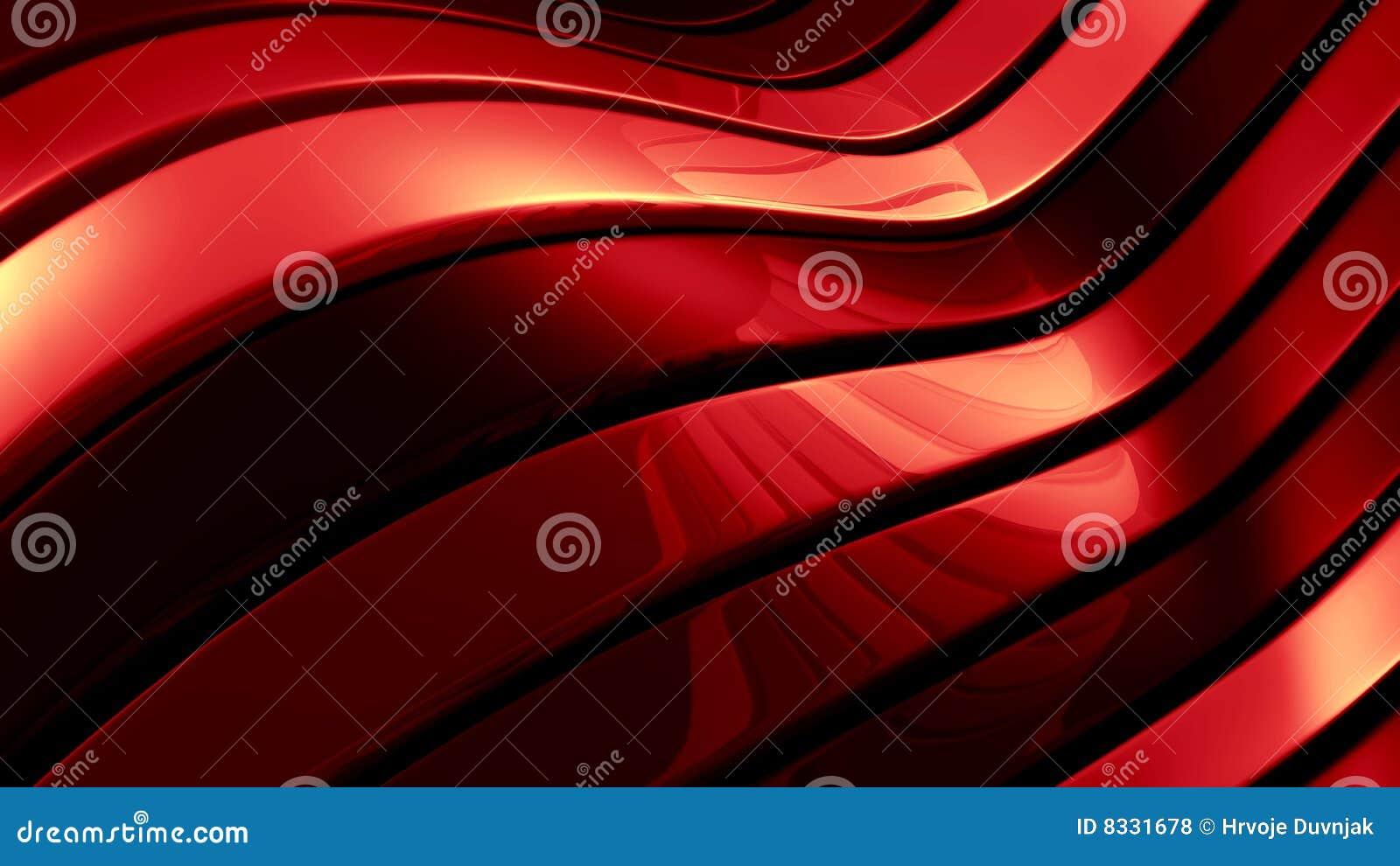 Rode abstracte illustratie
