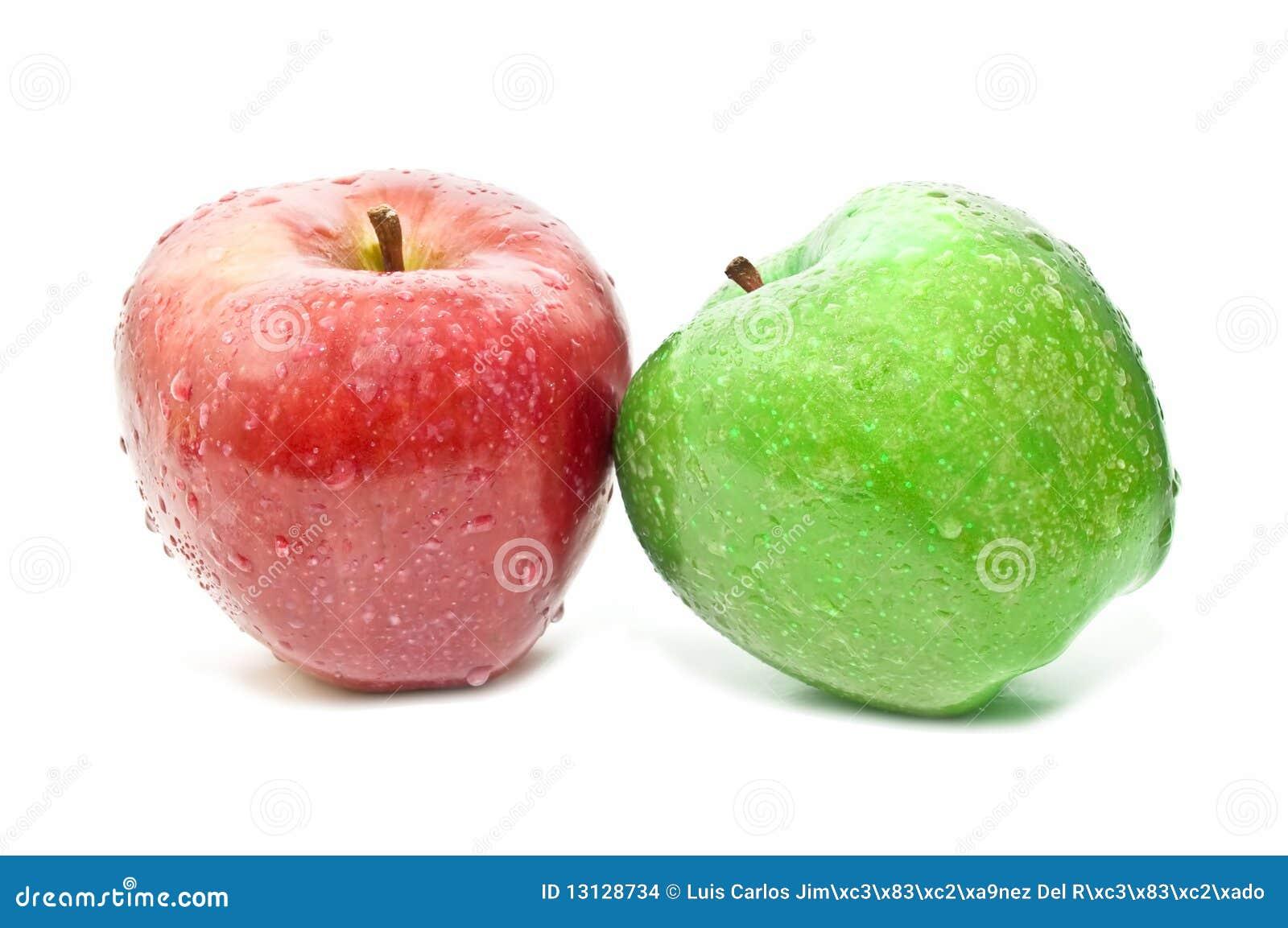 rode appel en groene appel stock foto afbeelding bestaande uit verfraai 13128734. Black Bedroom Furniture Sets. Home Design Ideas
