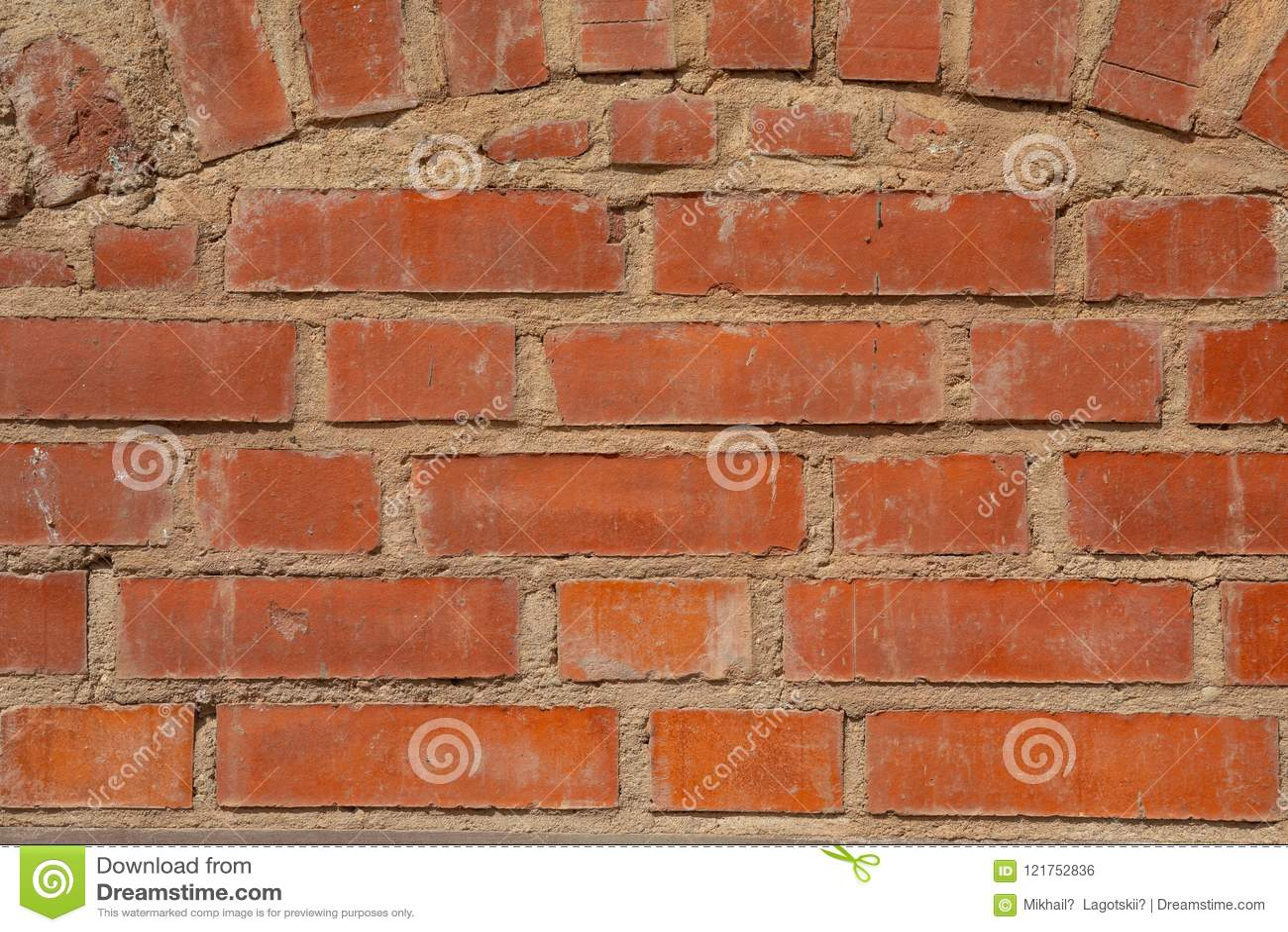 Rode bakstenen muurtextuur