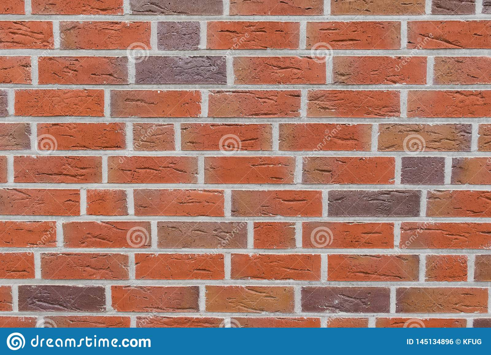 Rode bakstenen muurtextuur Volledige achtergrondweergeven