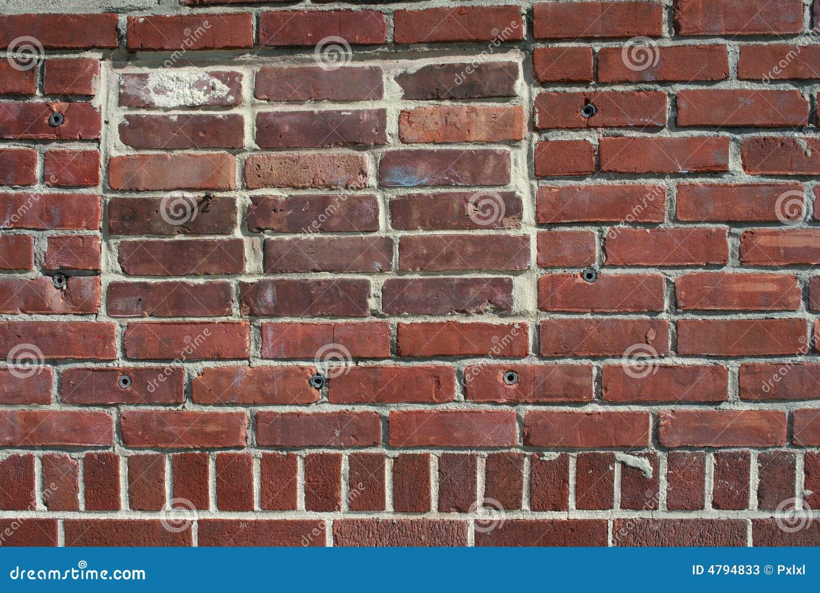 Rode bakstenen van een muur stock afbeelding afbeelding 4794833 - Rode bakstenen lounge ...