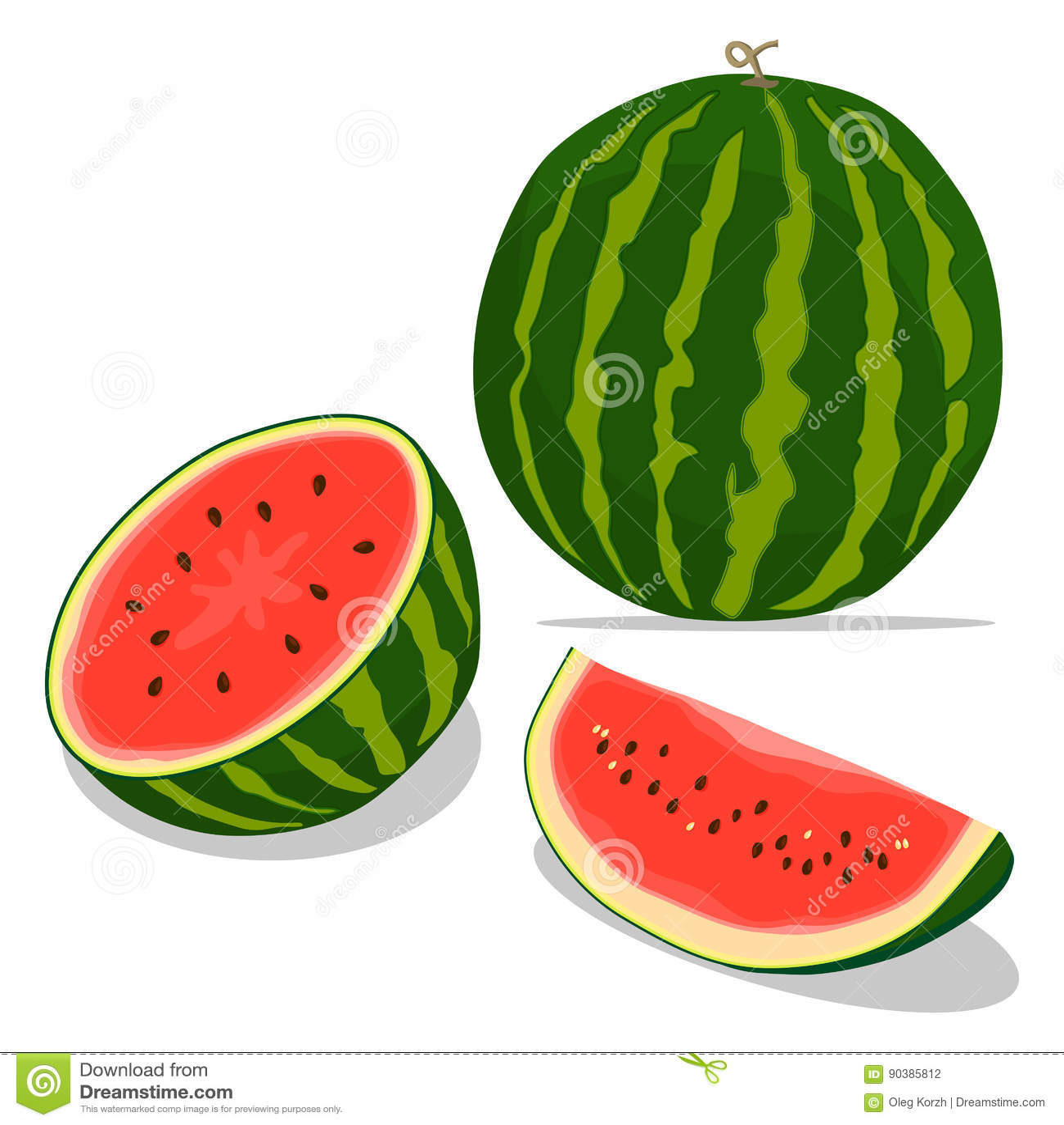 Rode fruitwatermeloen