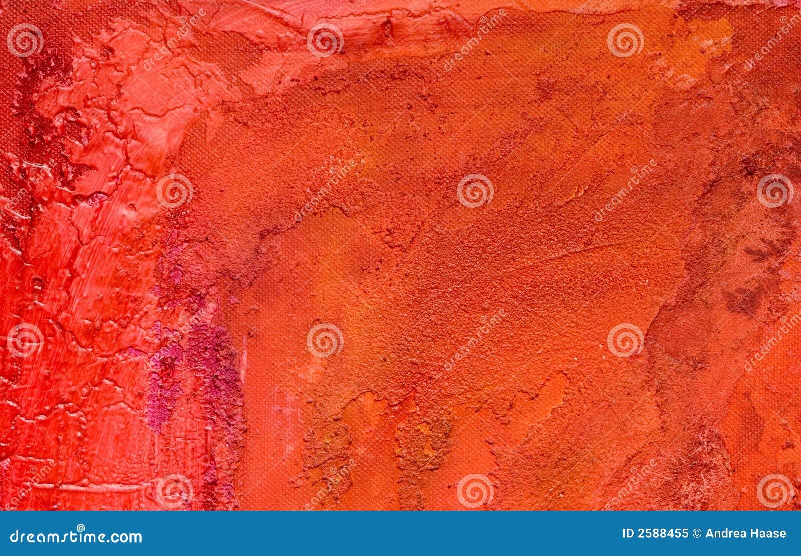 Rode geschilderde achtergrond