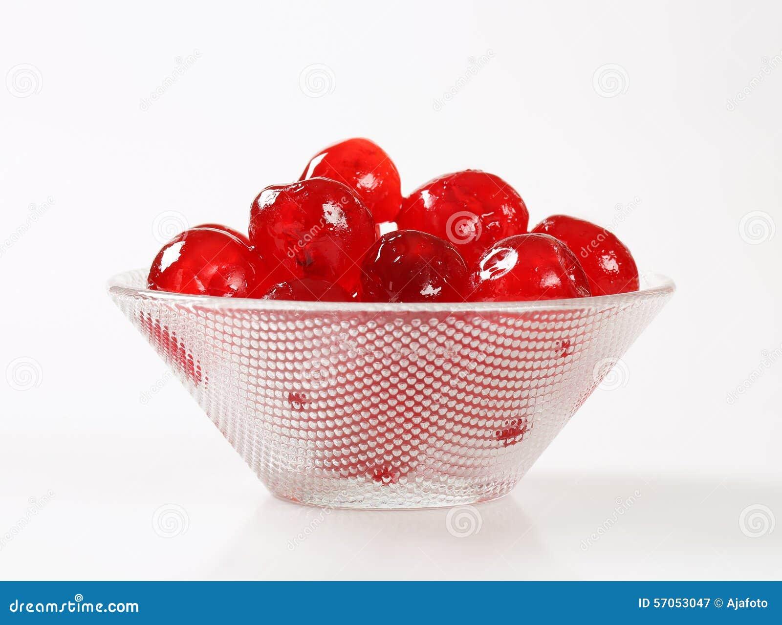 Rode Glace-Kersen