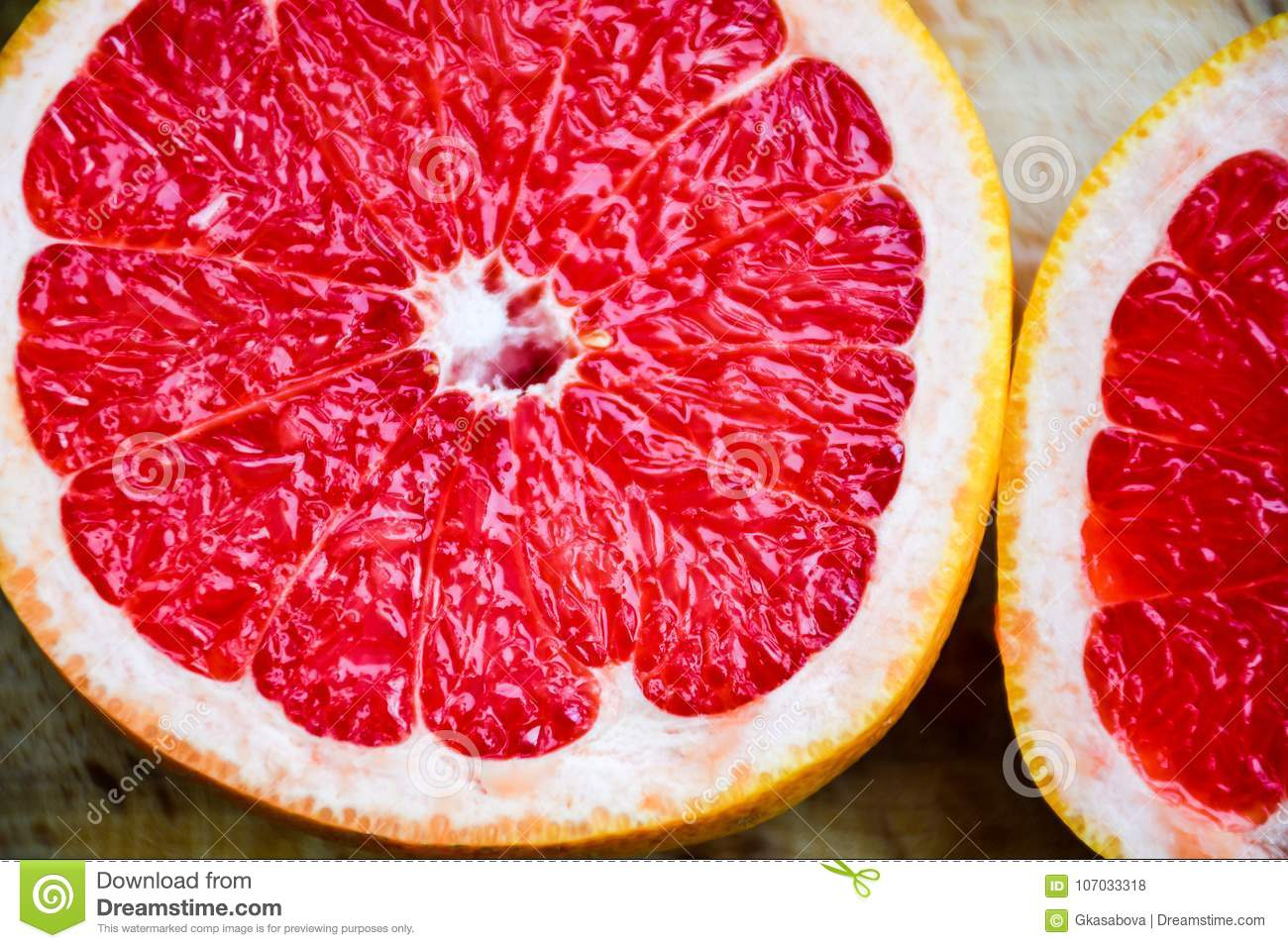 Rode grapefruit