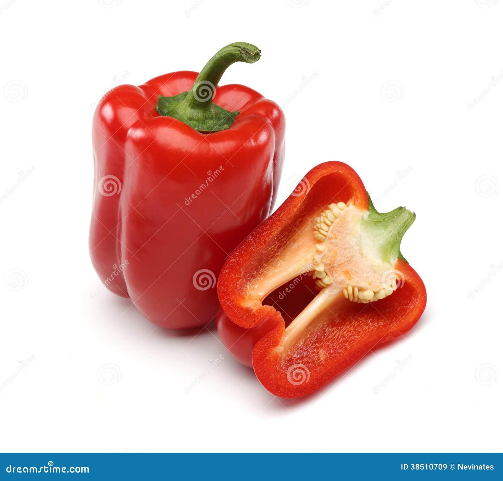 Rode Groene paprika s
