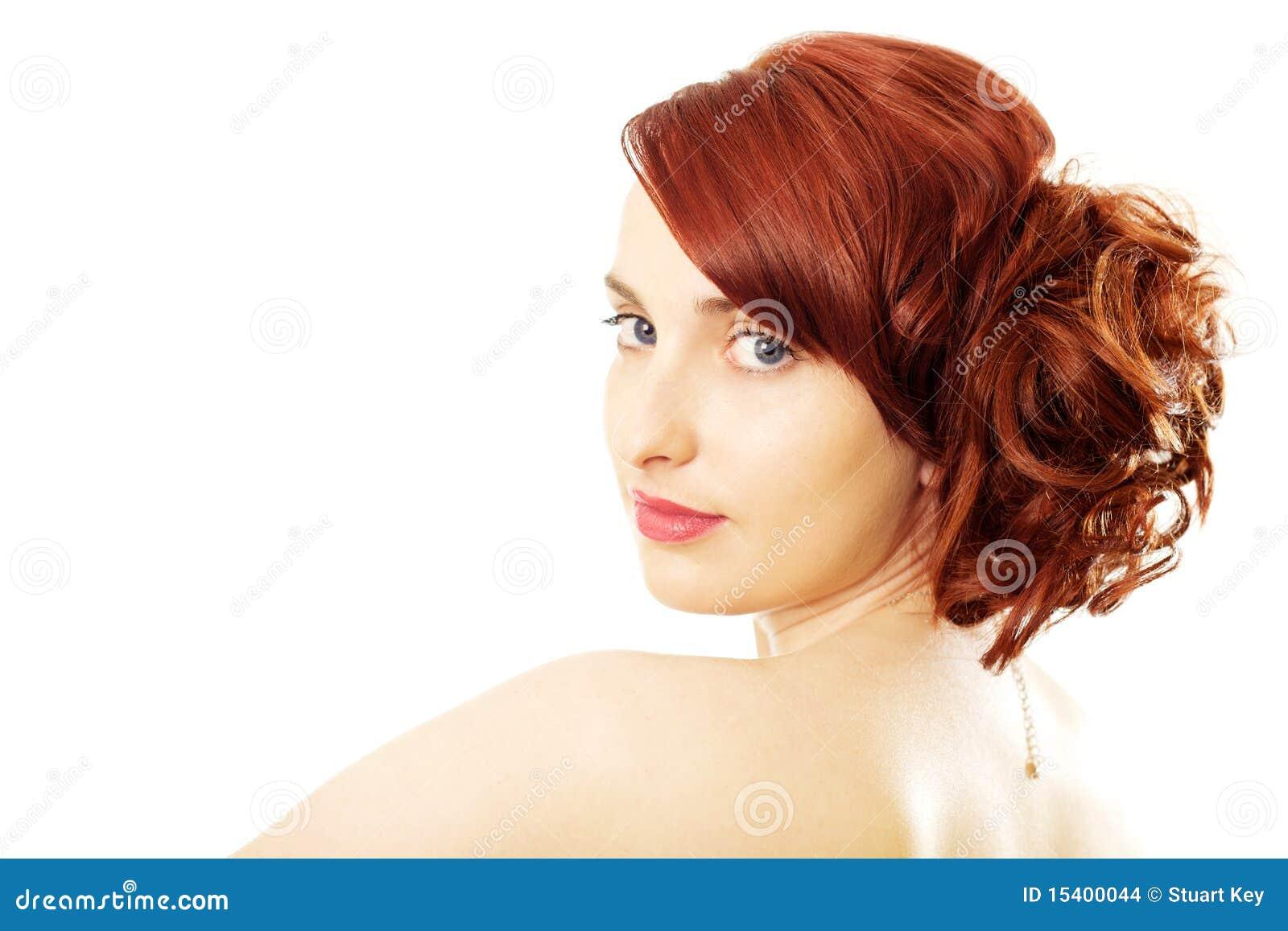 Rode haarschoonheid