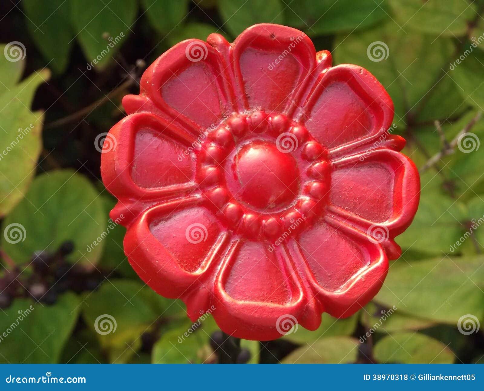 Rode ijzerbloem