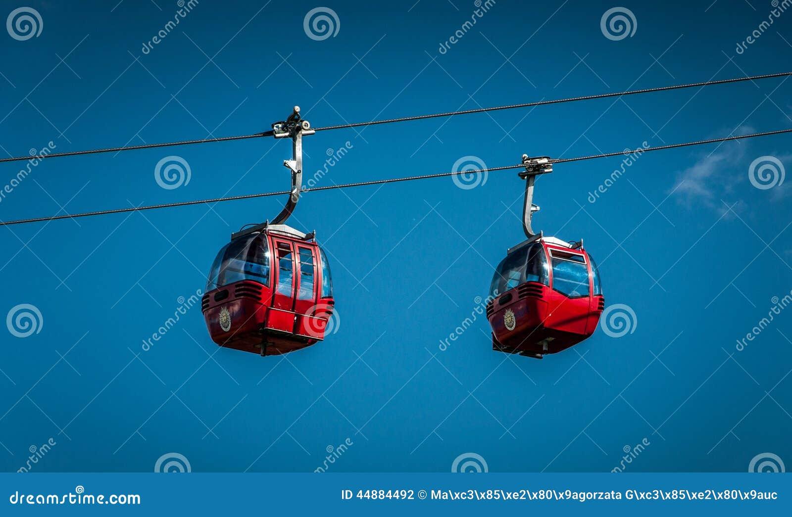 Rode kabelwagens