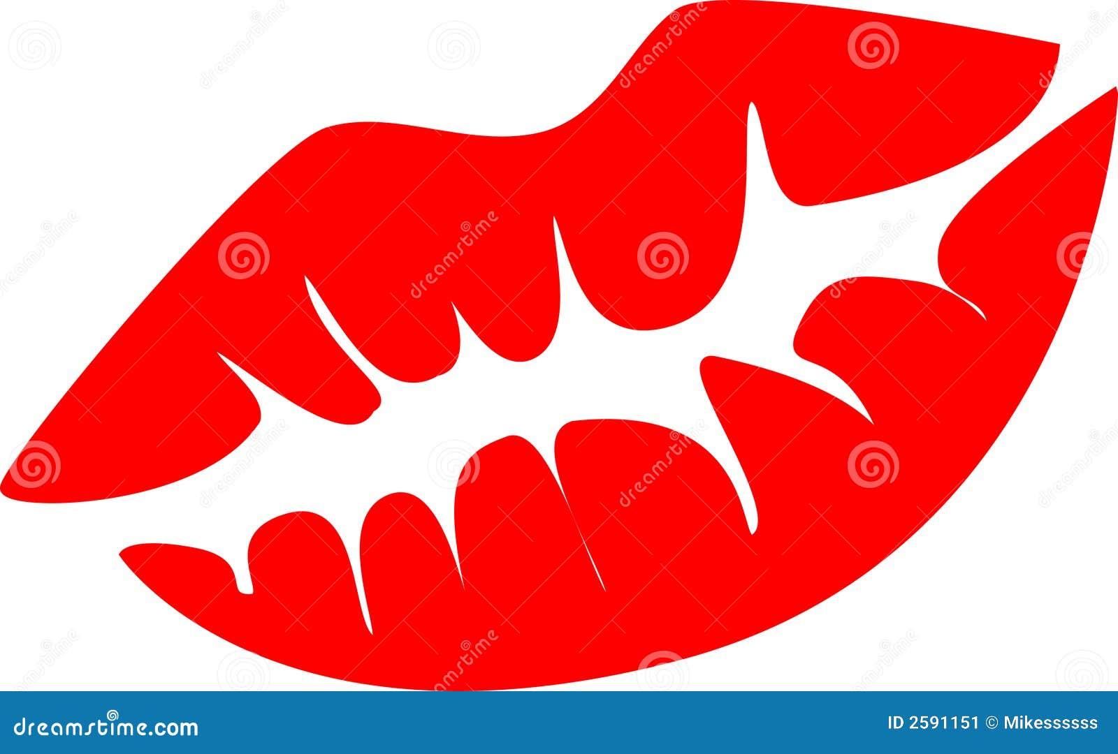 Rode lippenkus