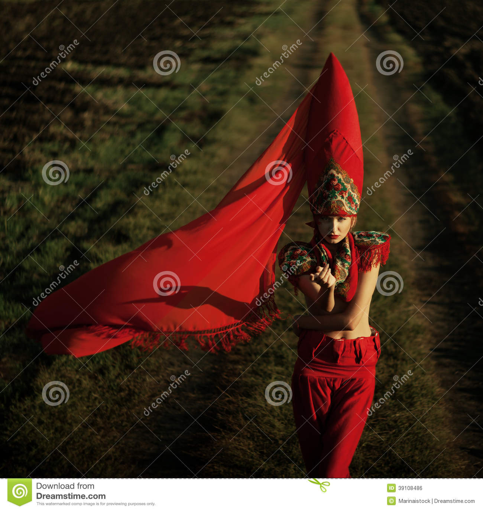 Rode maniervrouwen