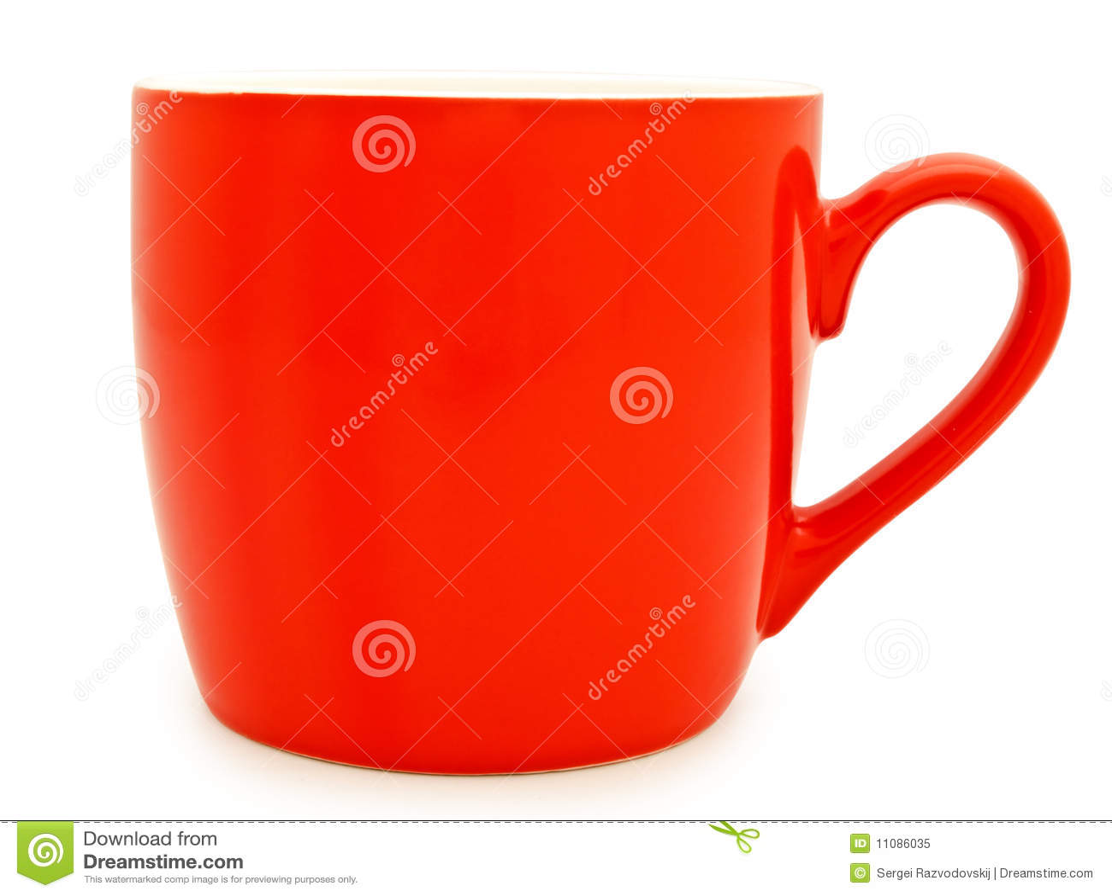 Rode mok stock afbeelding afbeelding bestaande uit werktuig 11086035 - Aardewerk rode keuken ...