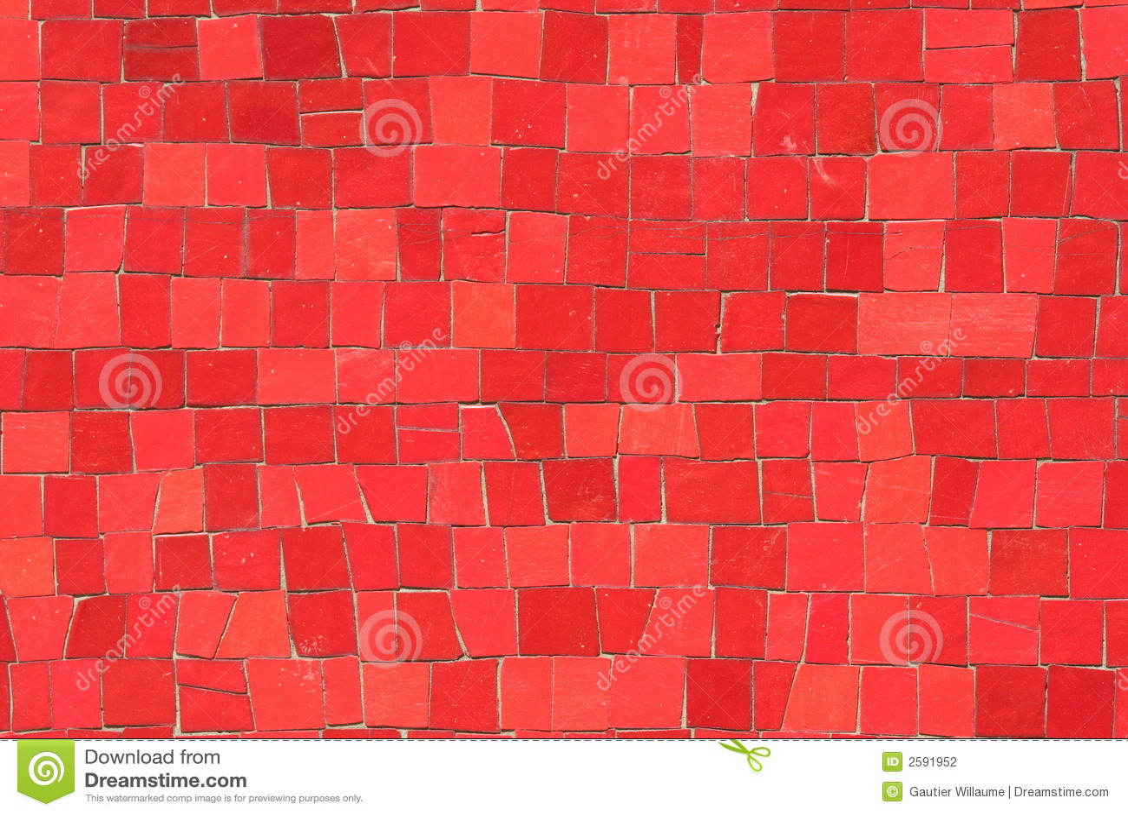 Rode mozaïeken