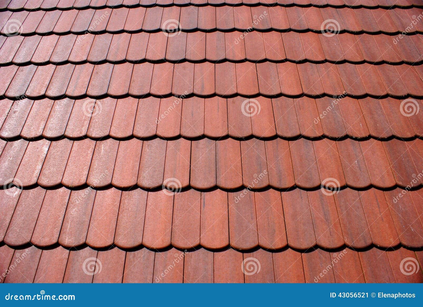Rode oude tegels stock afbeelding. afbeelding bestaande uit lijn