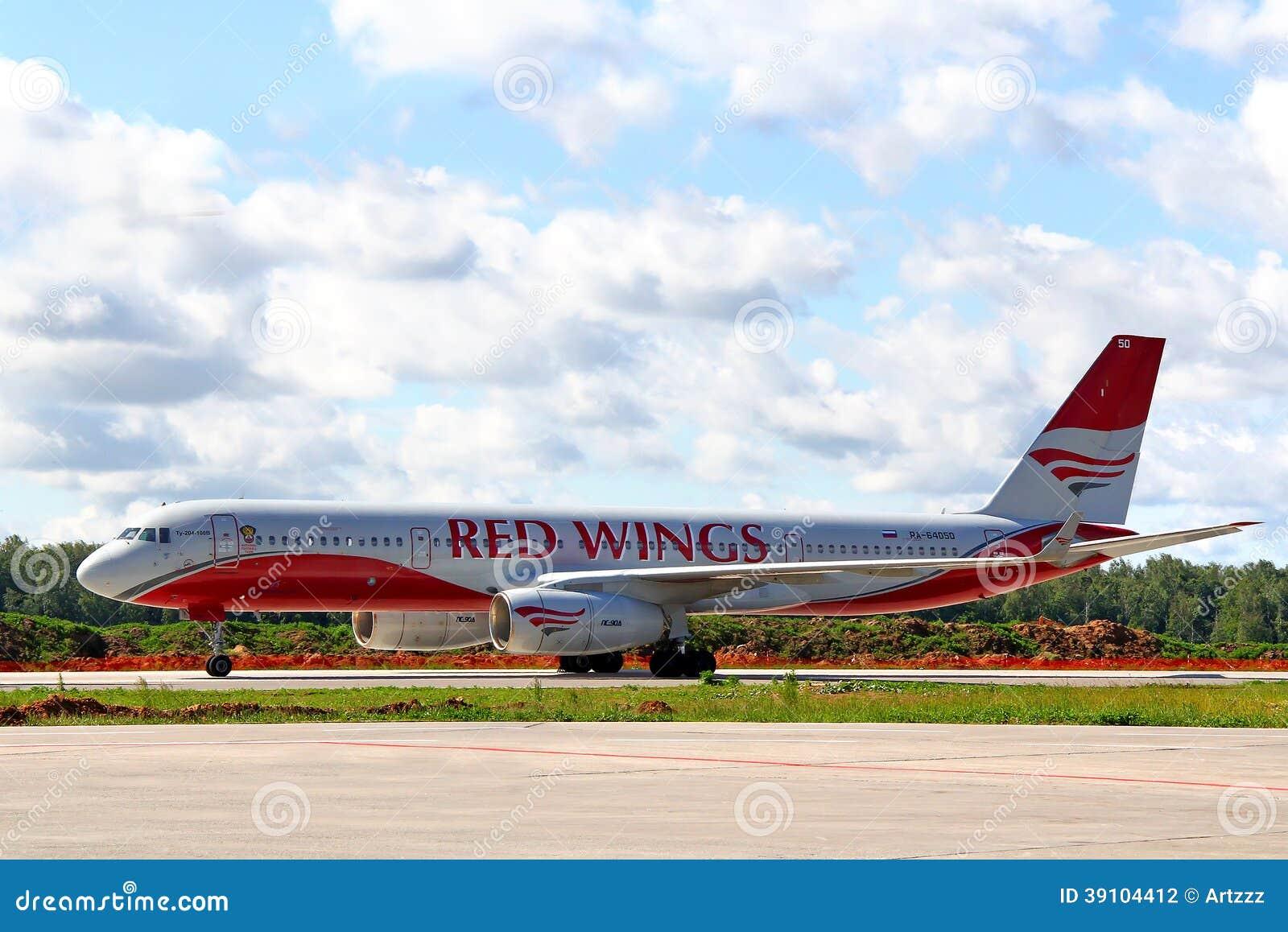 Rode Vleugels Airpines Tupolev Turkije-204