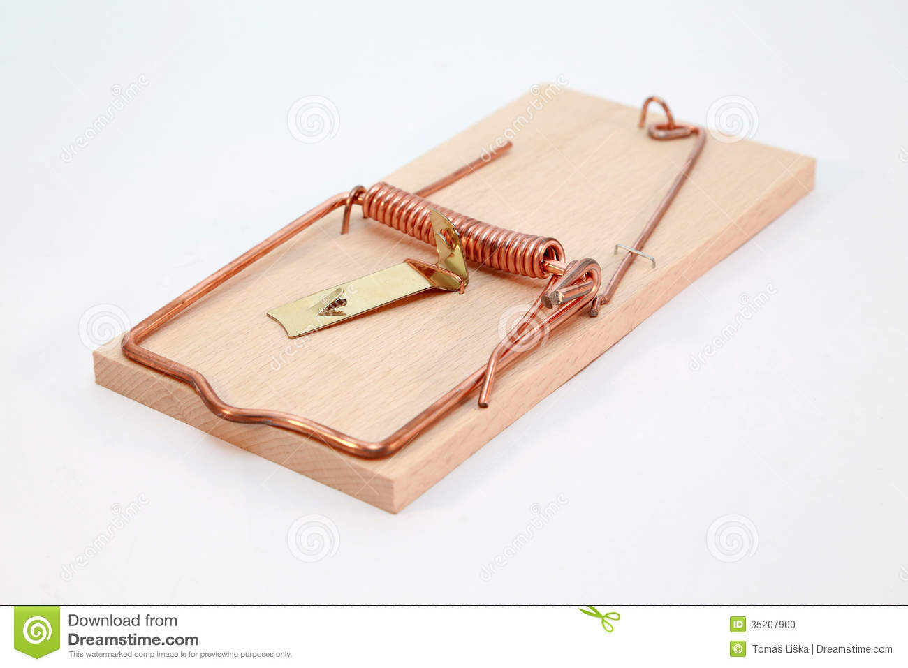 rodent mouse trap stock photo image 35207900. Black Bedroom Furniture Sets. Home Design Ideas