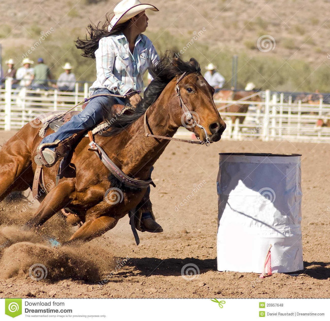 Rodeo Barrel Racing Editorial Stock Photo Image Of