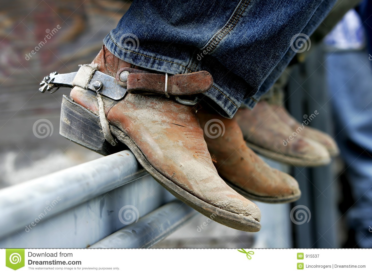 Rodeo Boots & Spurs