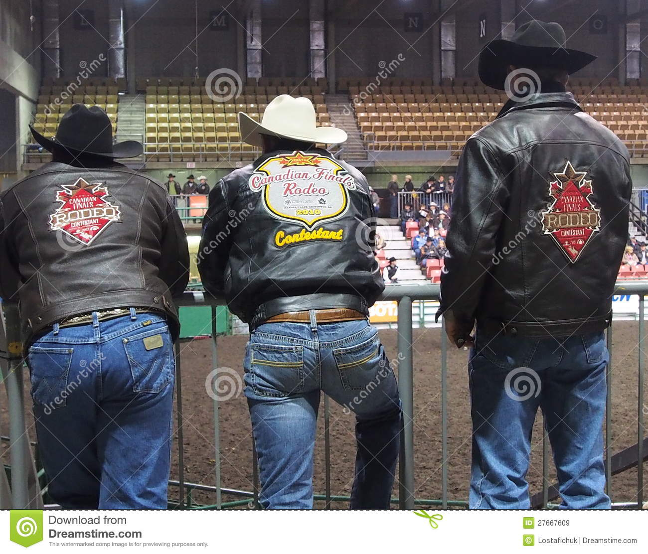 Rodeo Cowboys Editorial Stock Image Image Of Jeans Belt