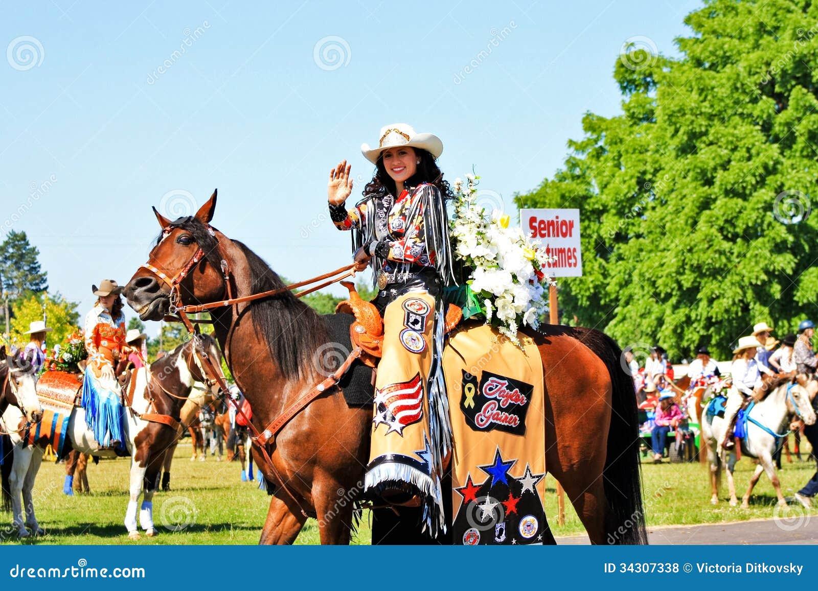Rodeo Queen Editorial Stock Photo Image Of Teen Sunlight