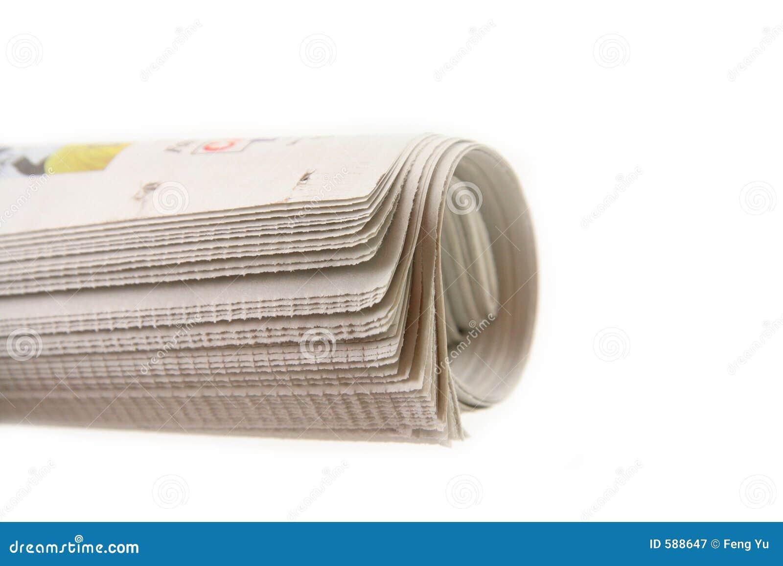 Rodillo del periódico