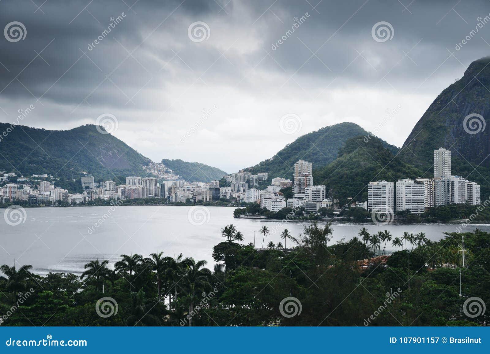 Rodrigo de Freitas Lagoon, Rio de Janeiro