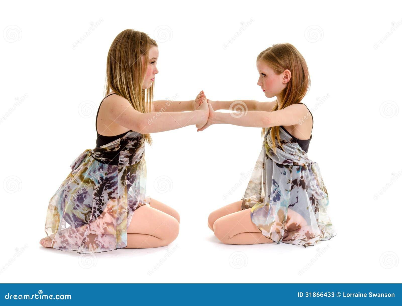 Rodzeństwo tana siostry Liryczni partnery