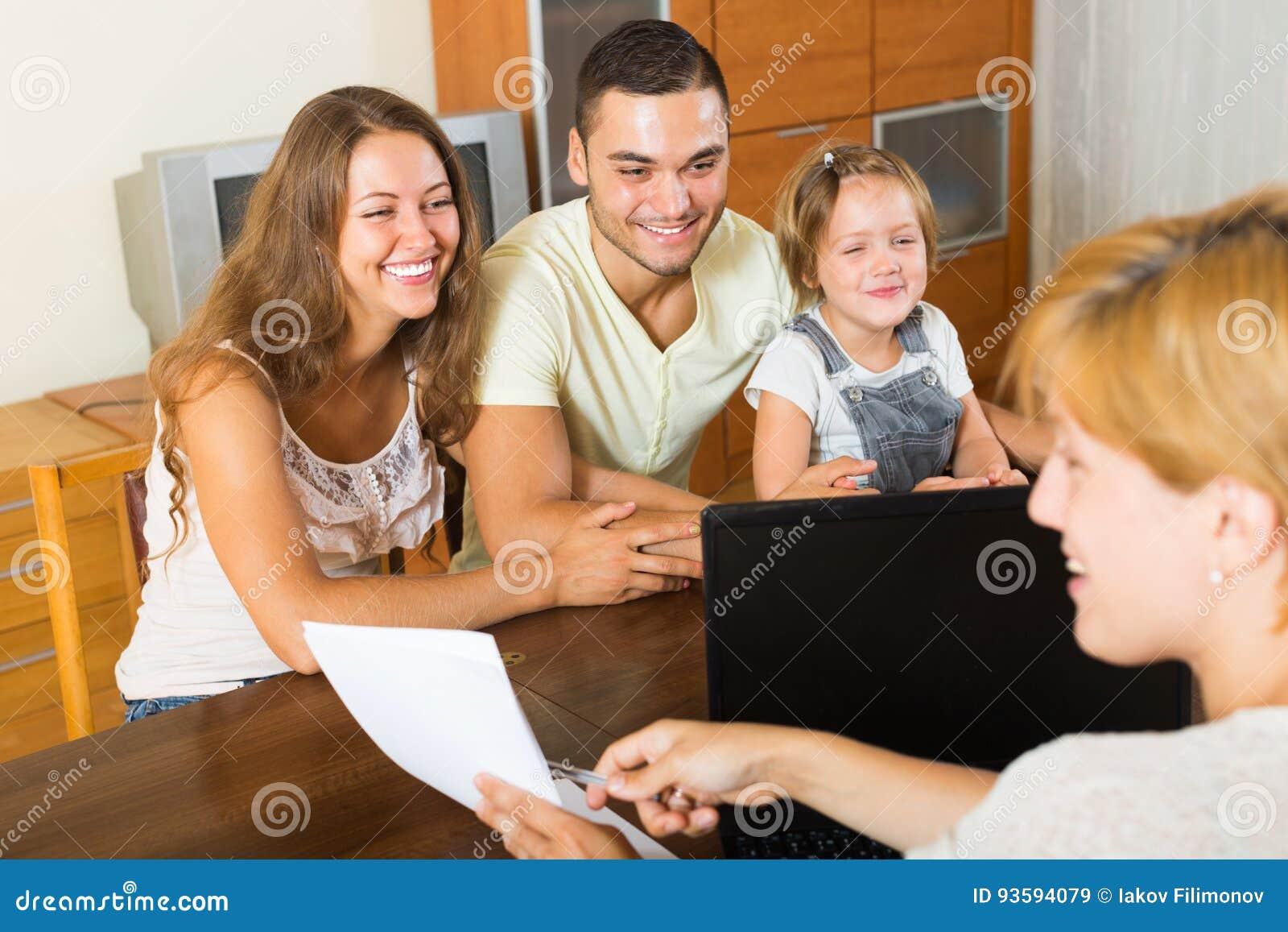 Rodzice z córką