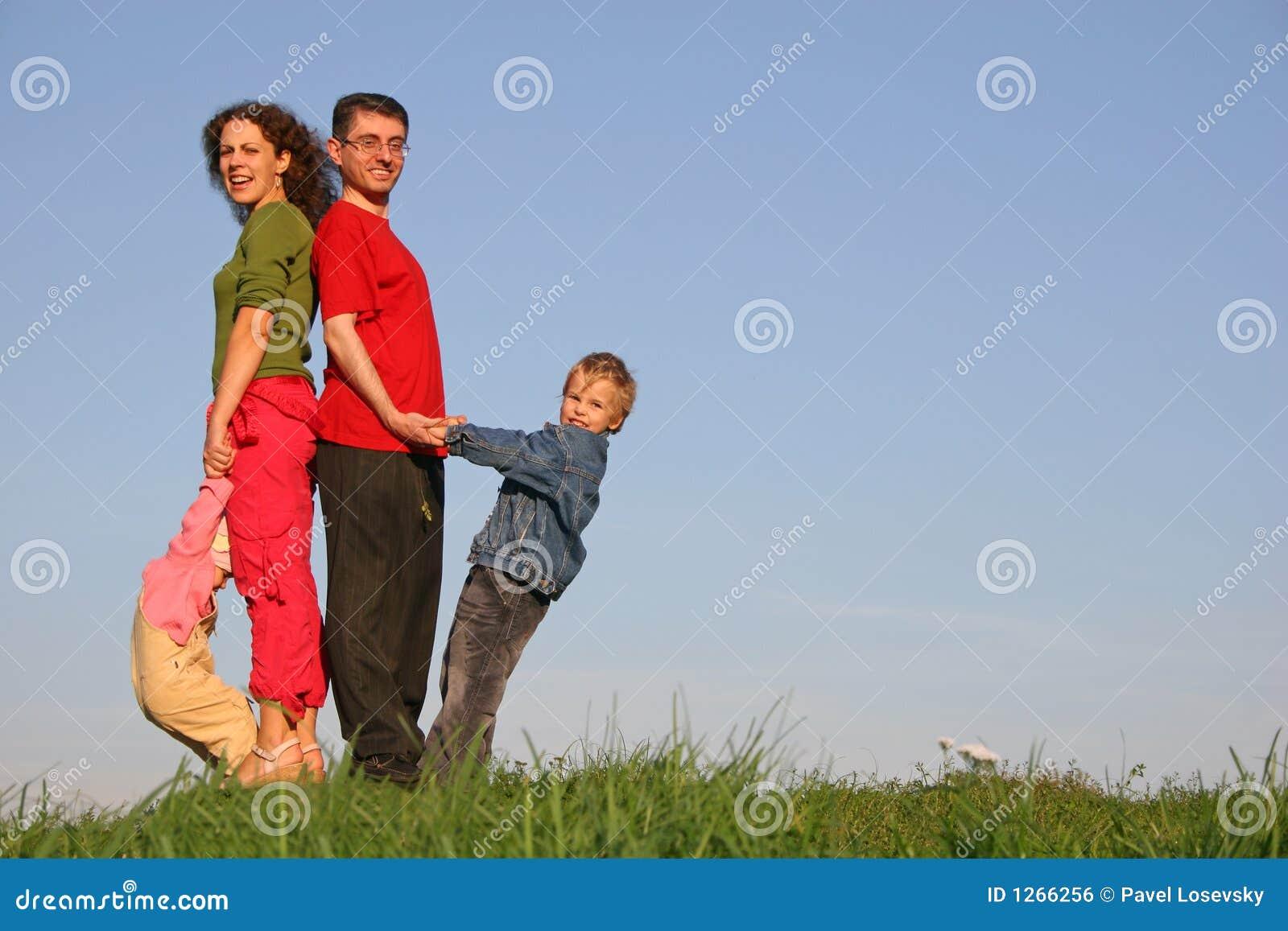 Rodzina, cztery