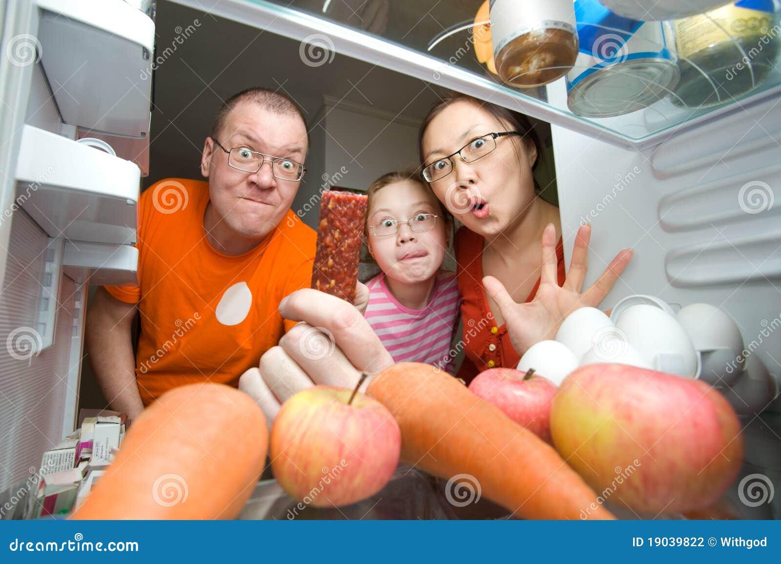 Rodzina głodna