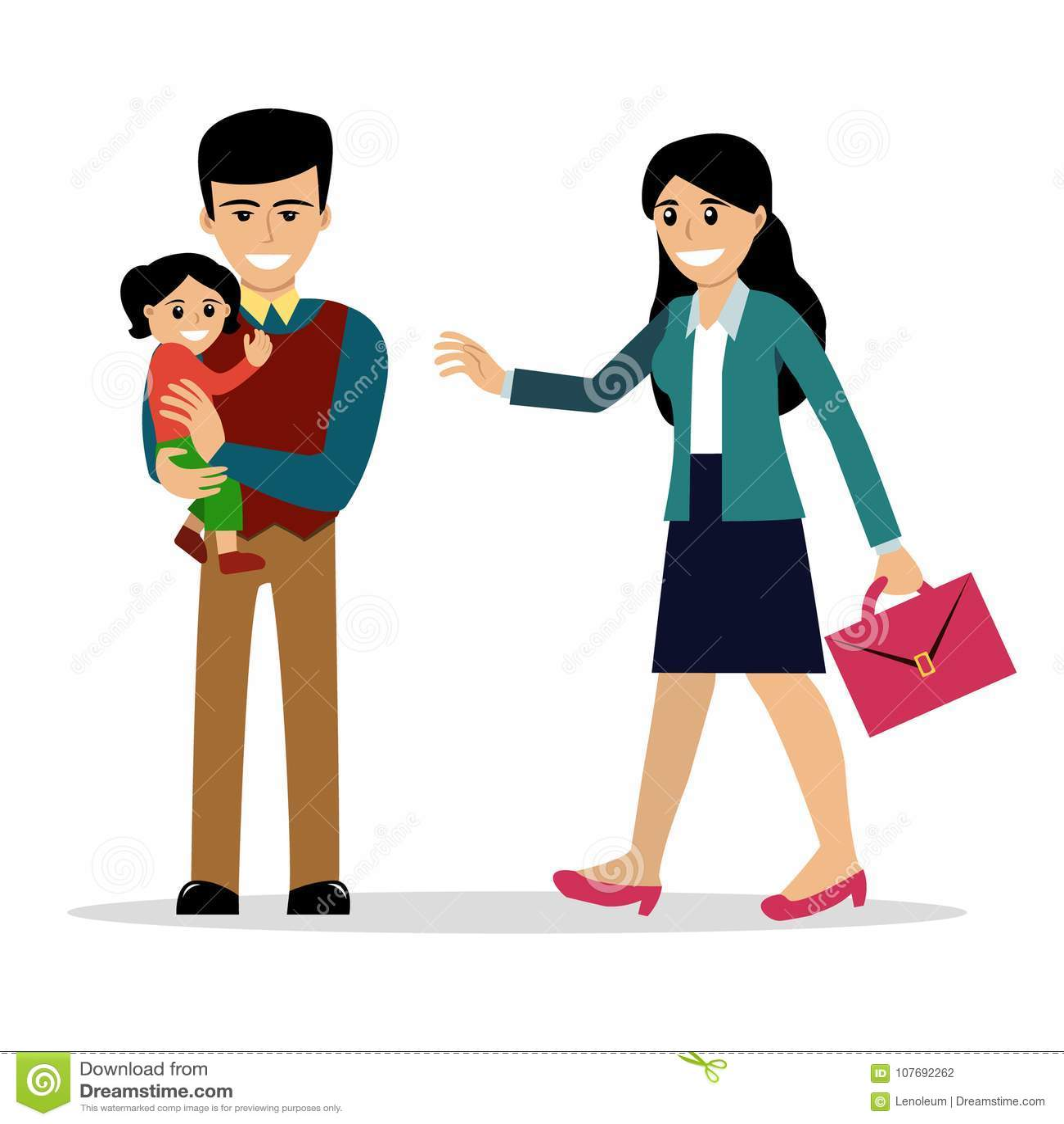 Tata i ich córki spotykają sięspotykanie się z kimś, kto był w długotrwałym związku