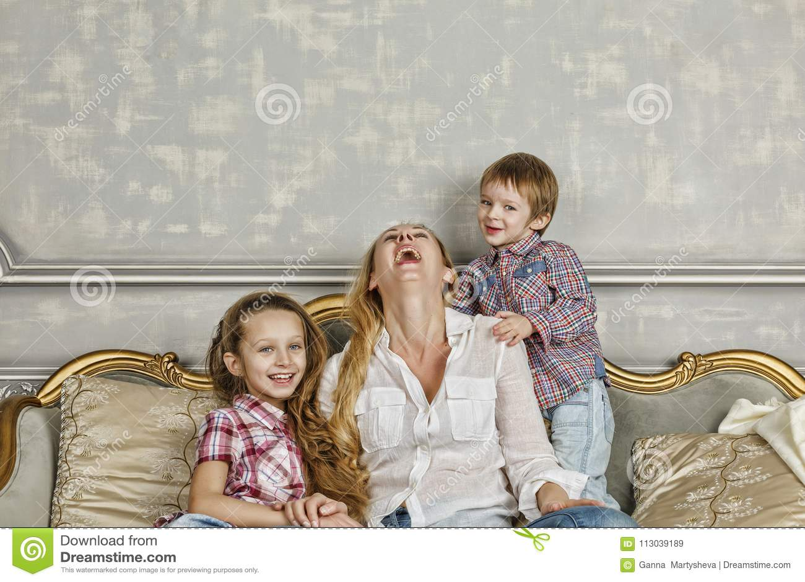 Rodzina, szczęśliwy, Macierzysty ` s dzień, Rodzinny dzień, mama, Szczęśliwa rodzina, chil